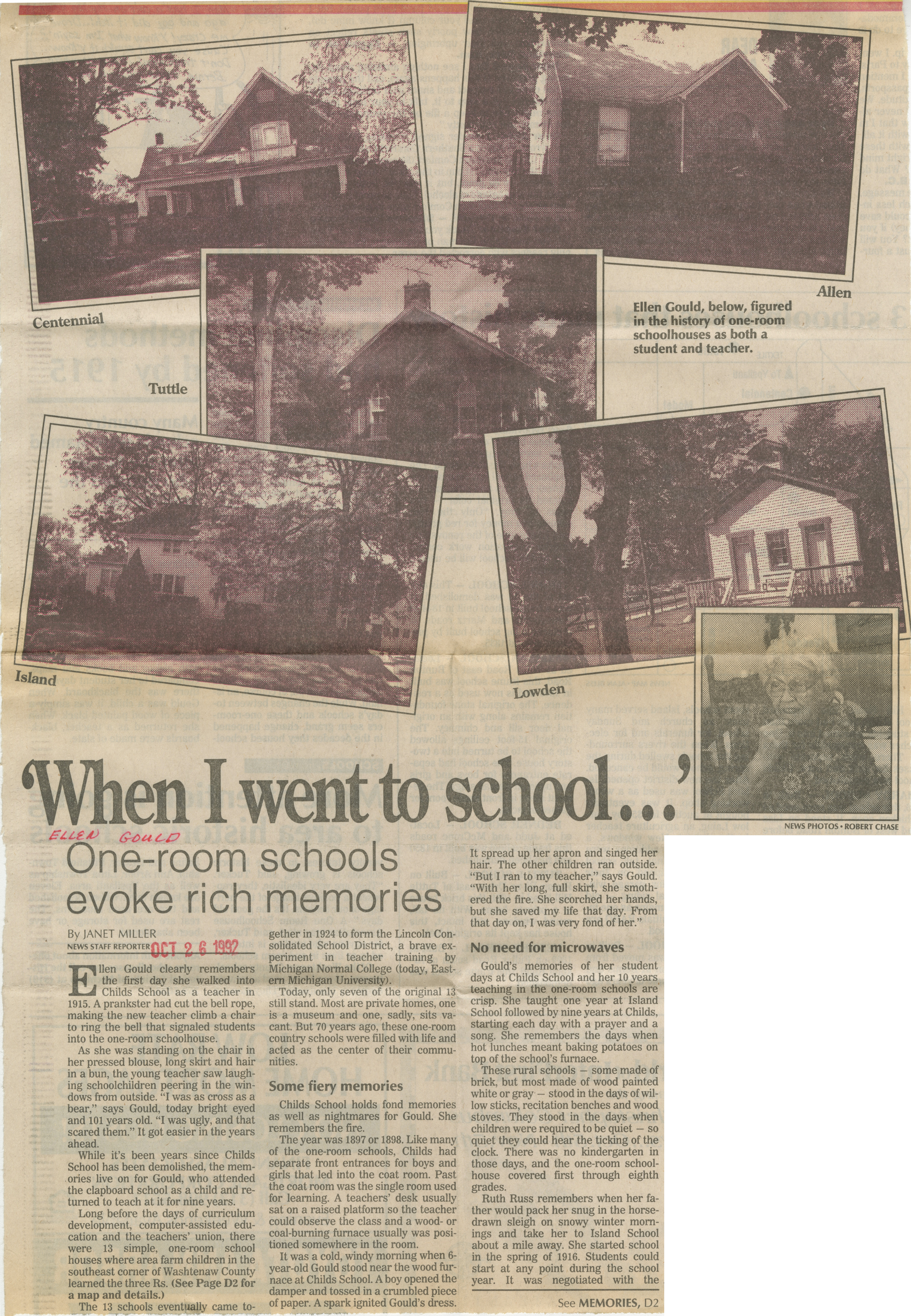 'When I Went To School...' image