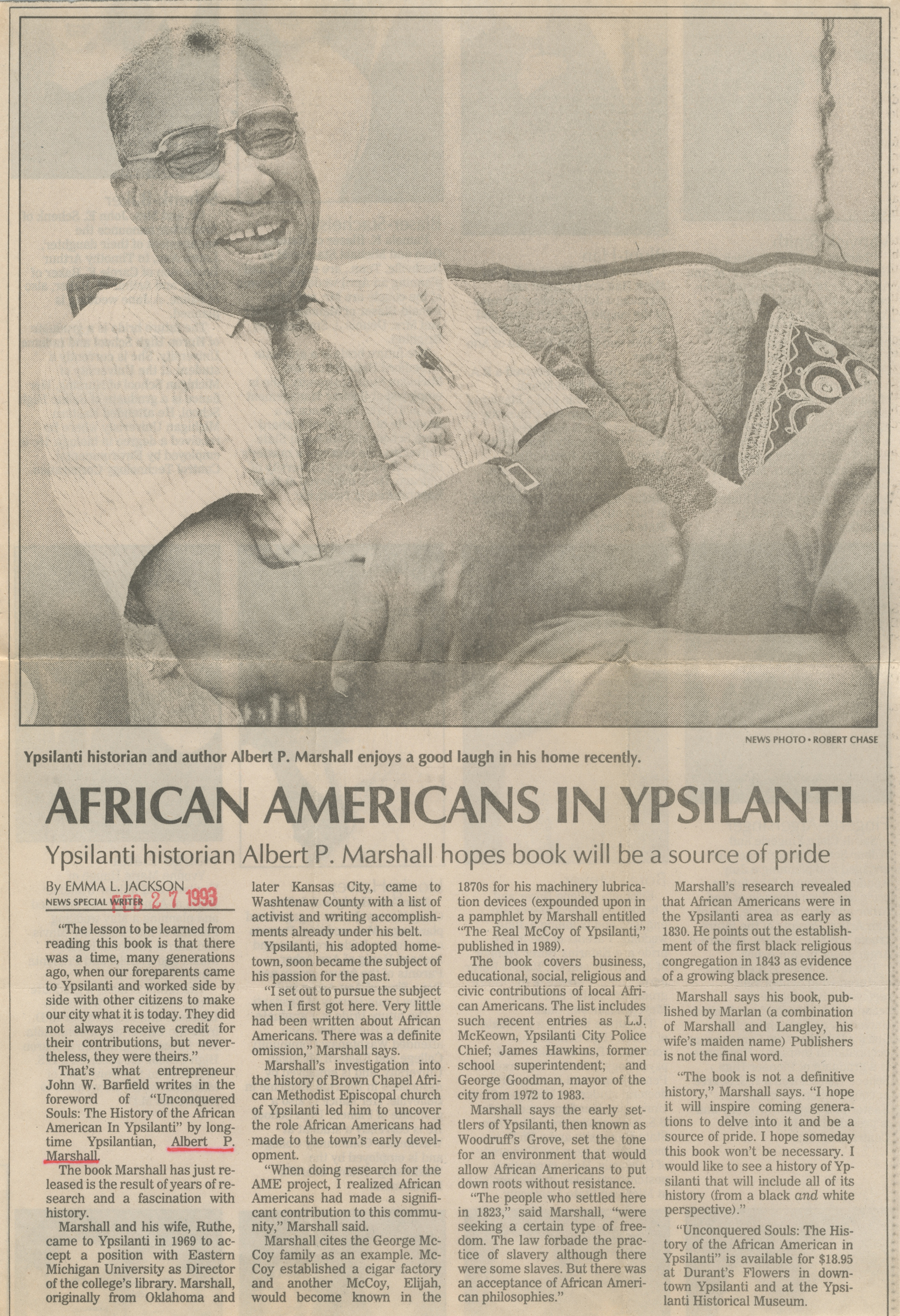 African Americans In Ypsilanti image