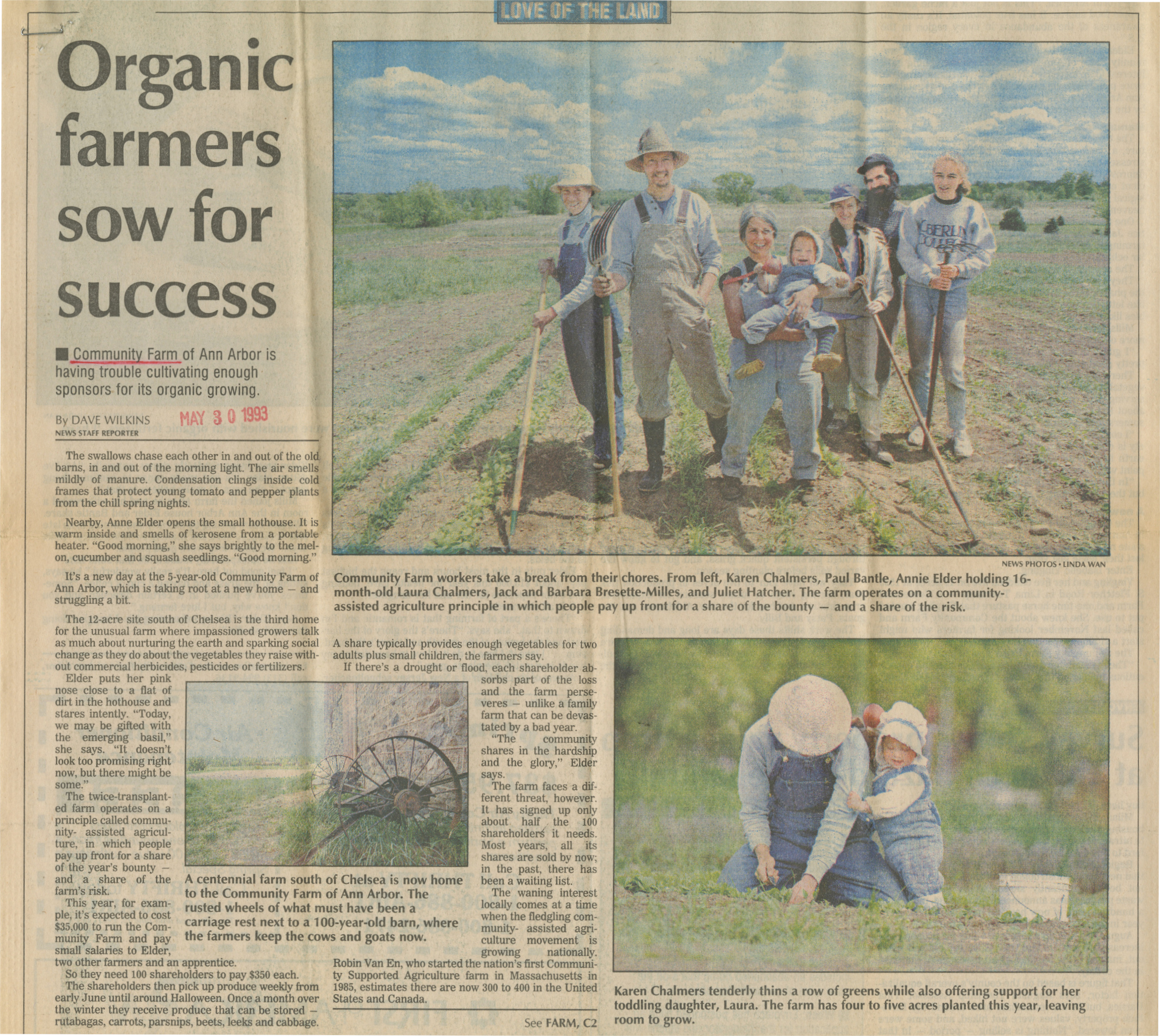 Organic Farmers Sow For Success image