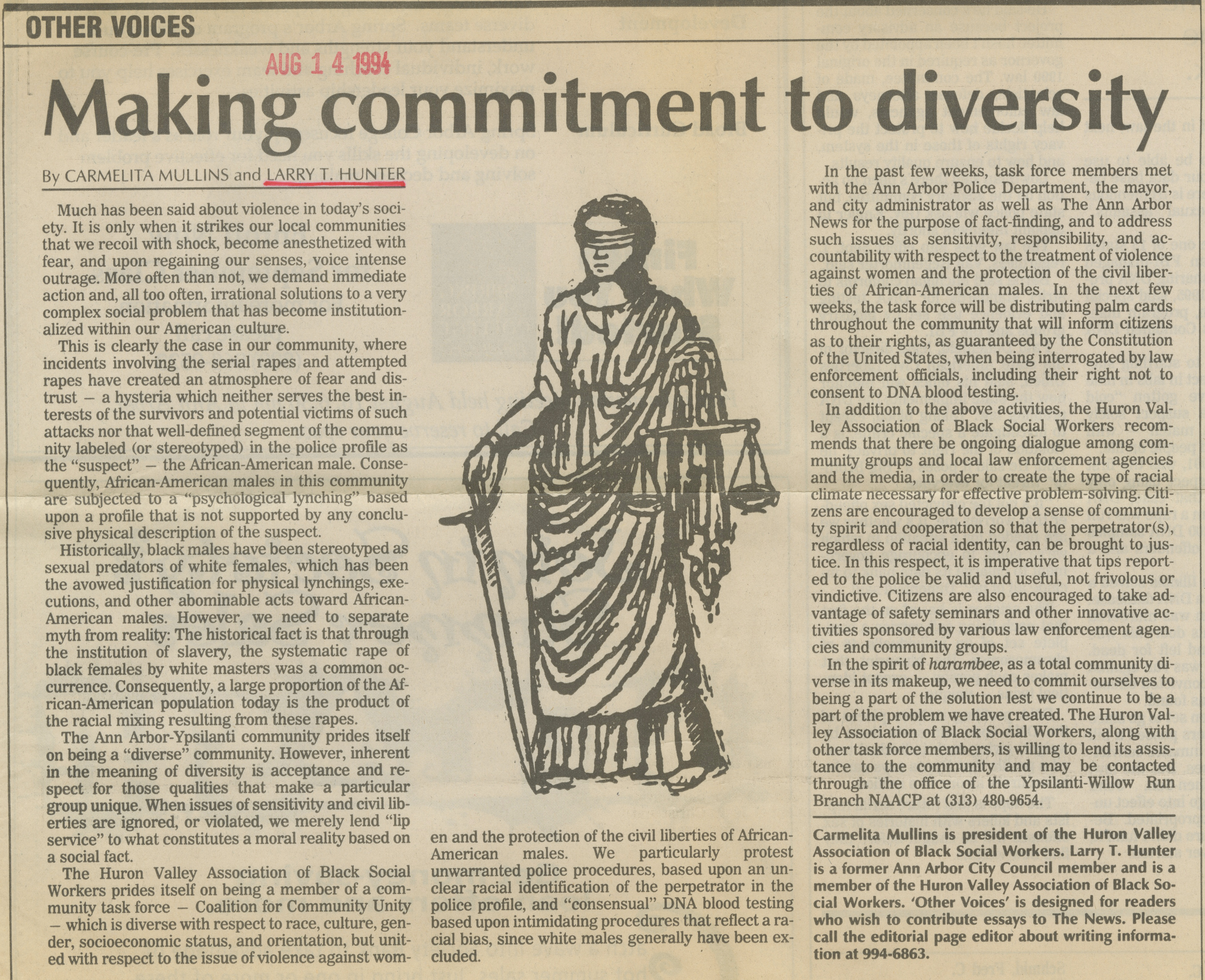 Making commitment to diversity image