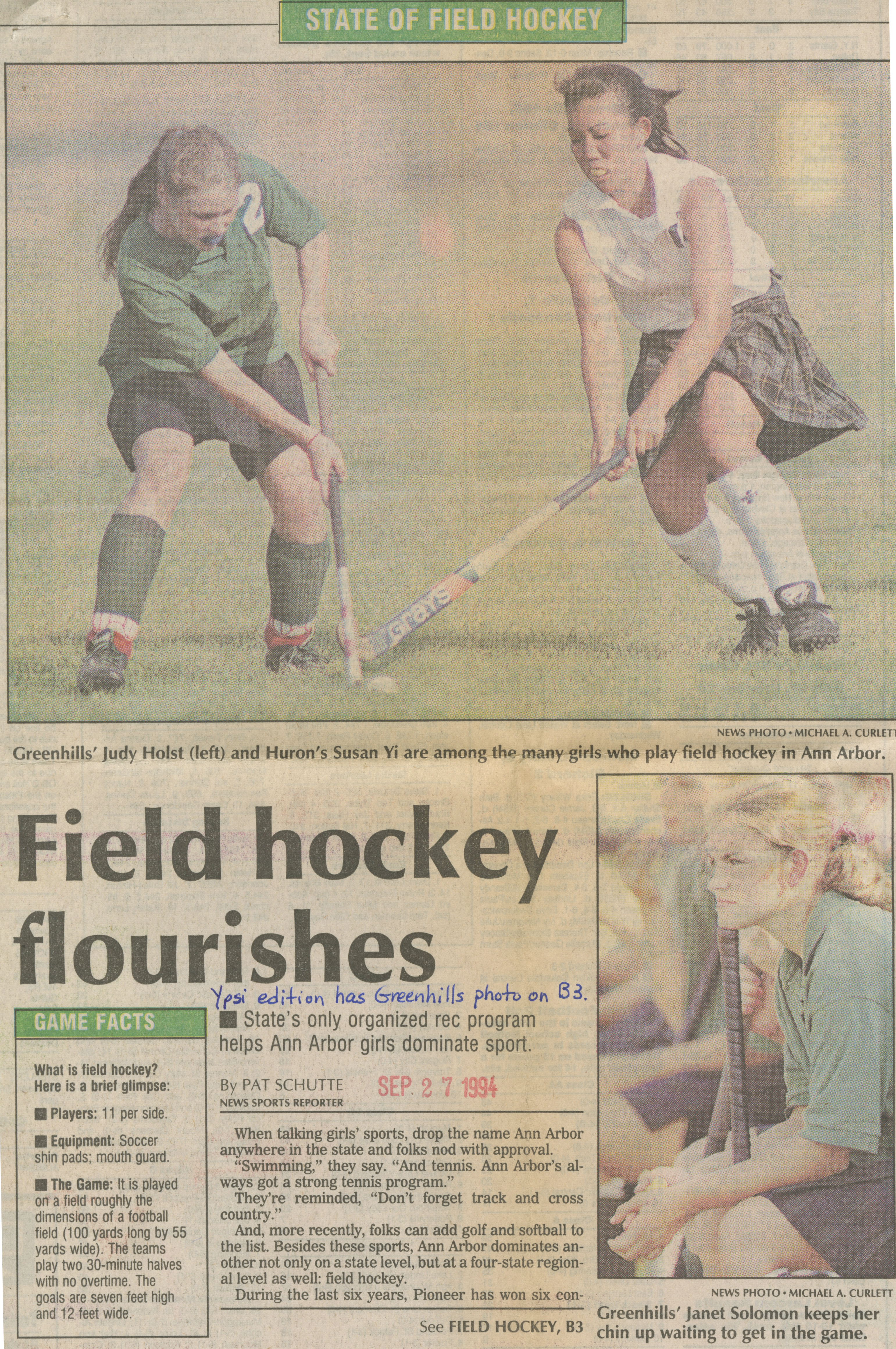 Field Hockey Flourishes image