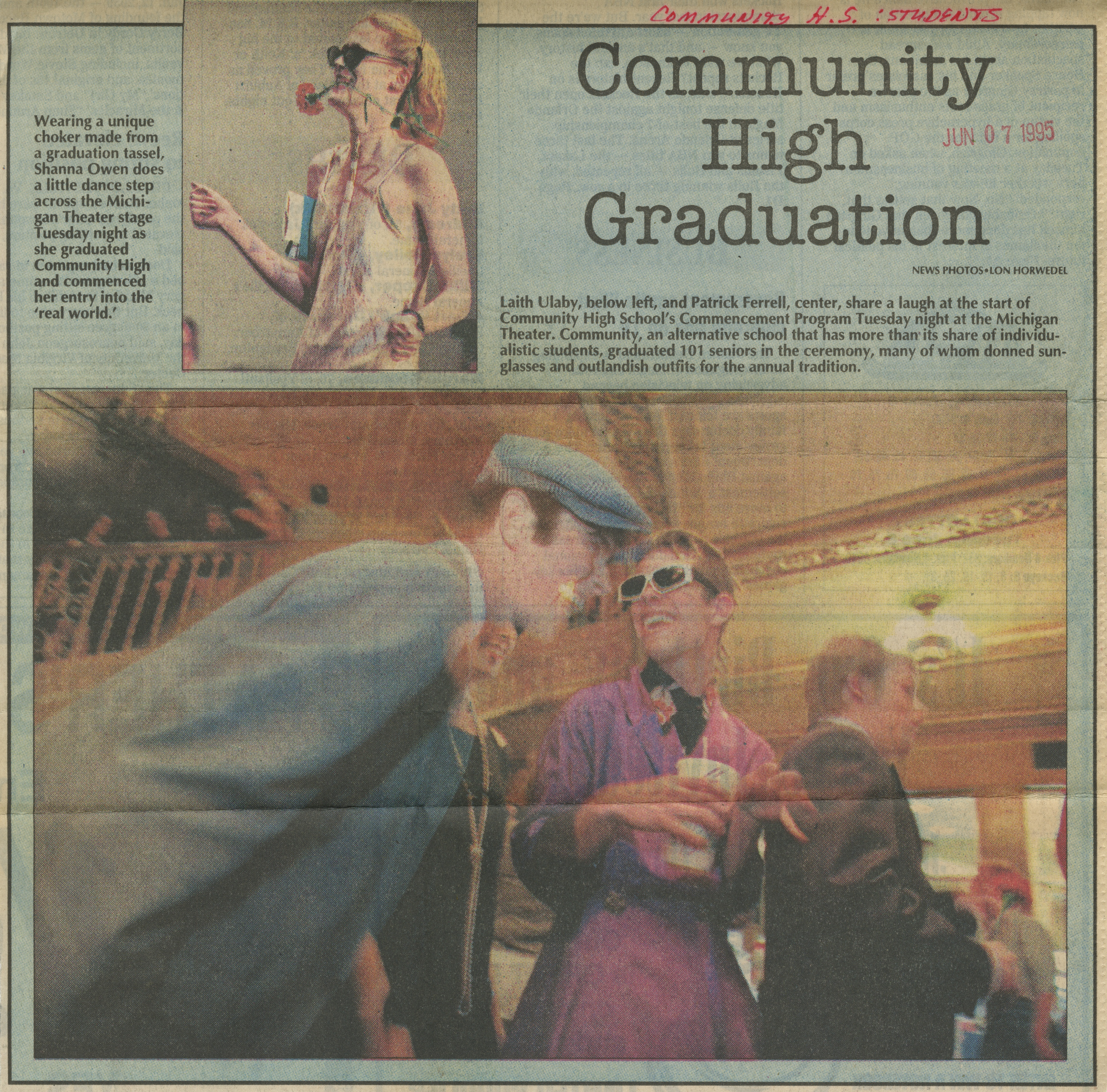 Community High Graduation image
