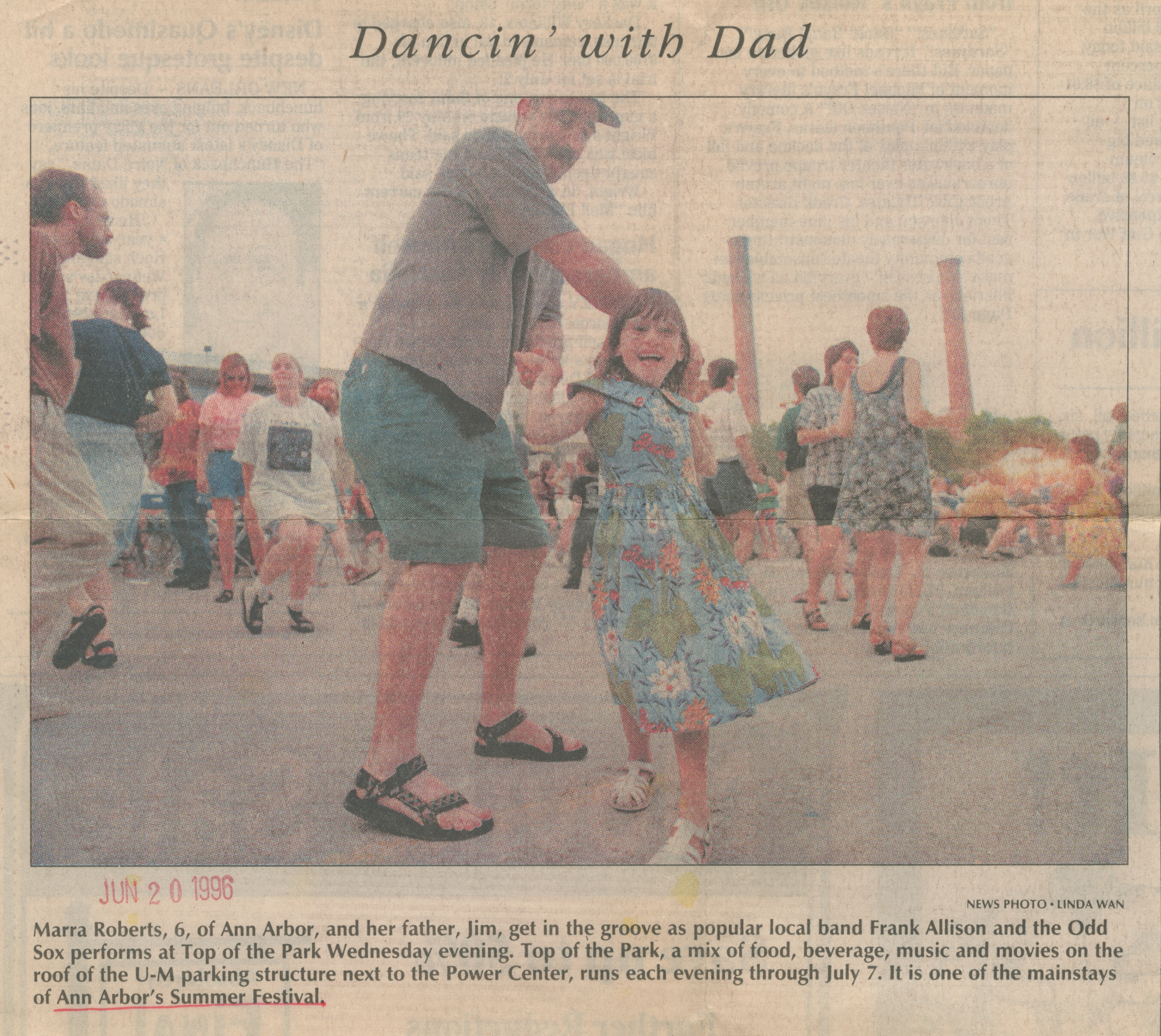Dancin' with Dad image