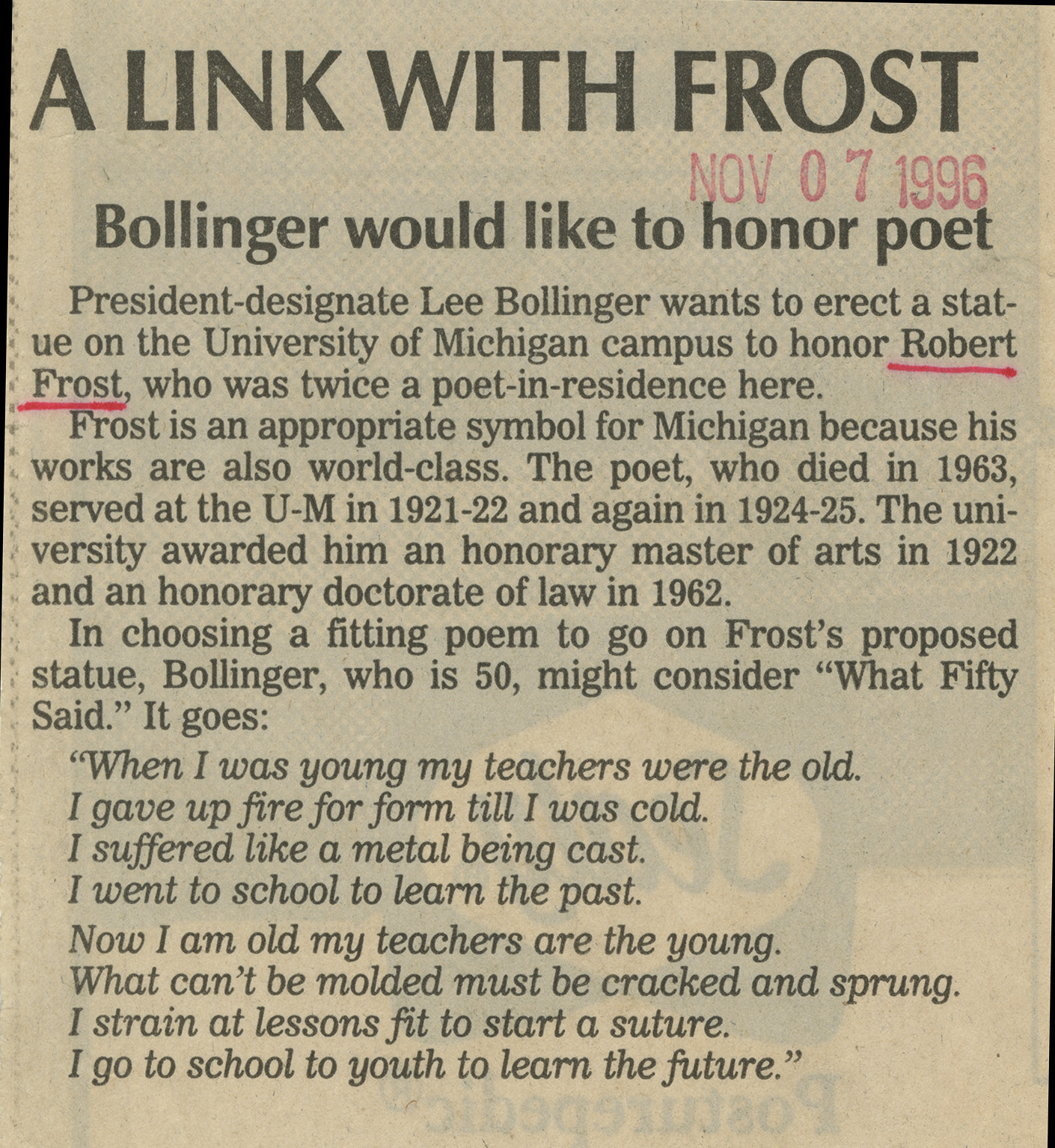 A Link with Frost image