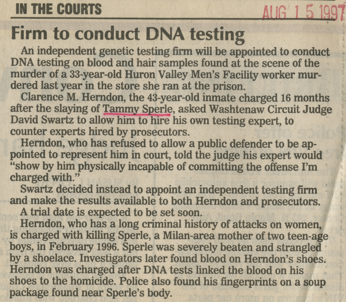 Firm to conduct DNA testing image