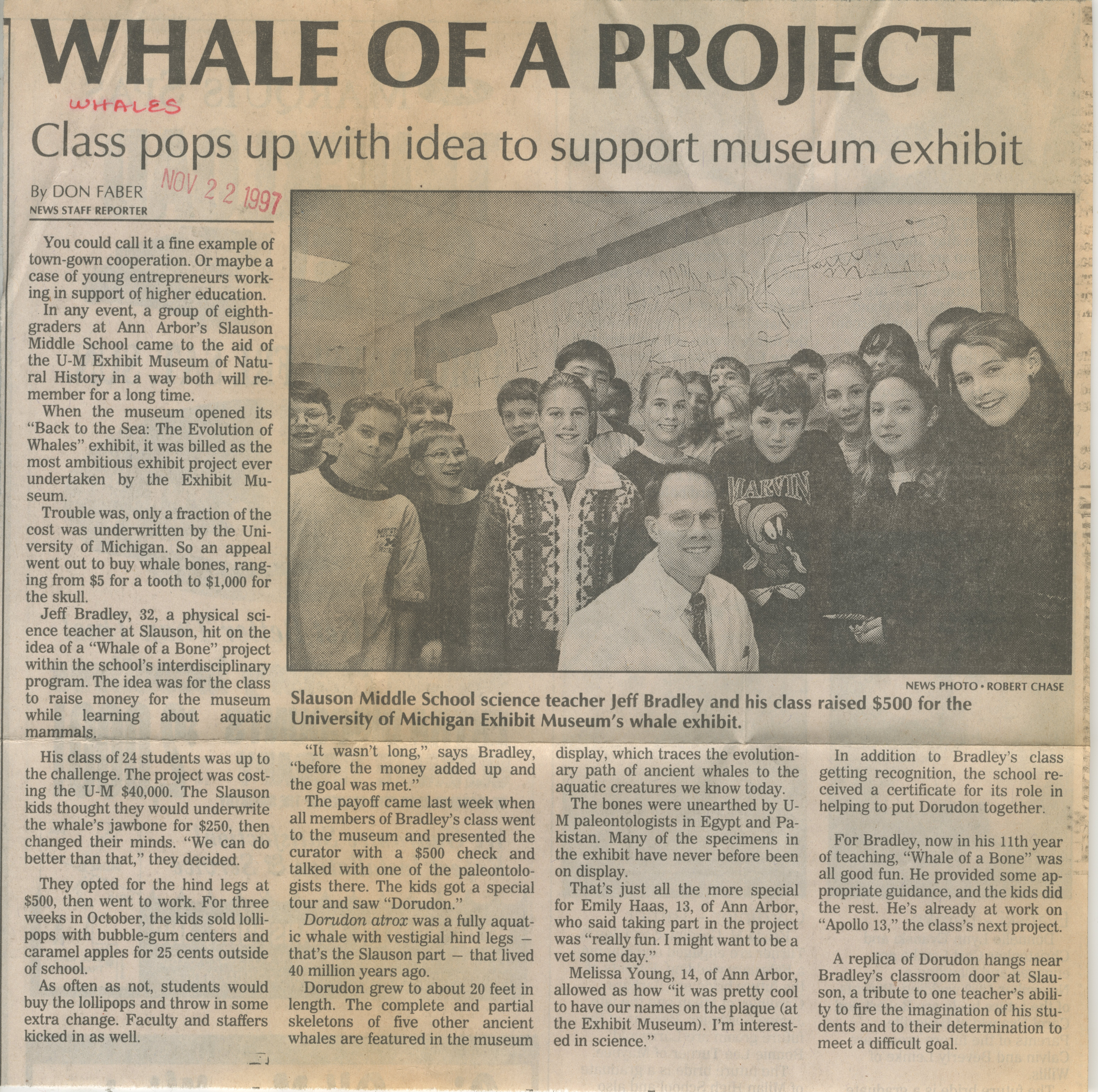 Whale Of A Project image