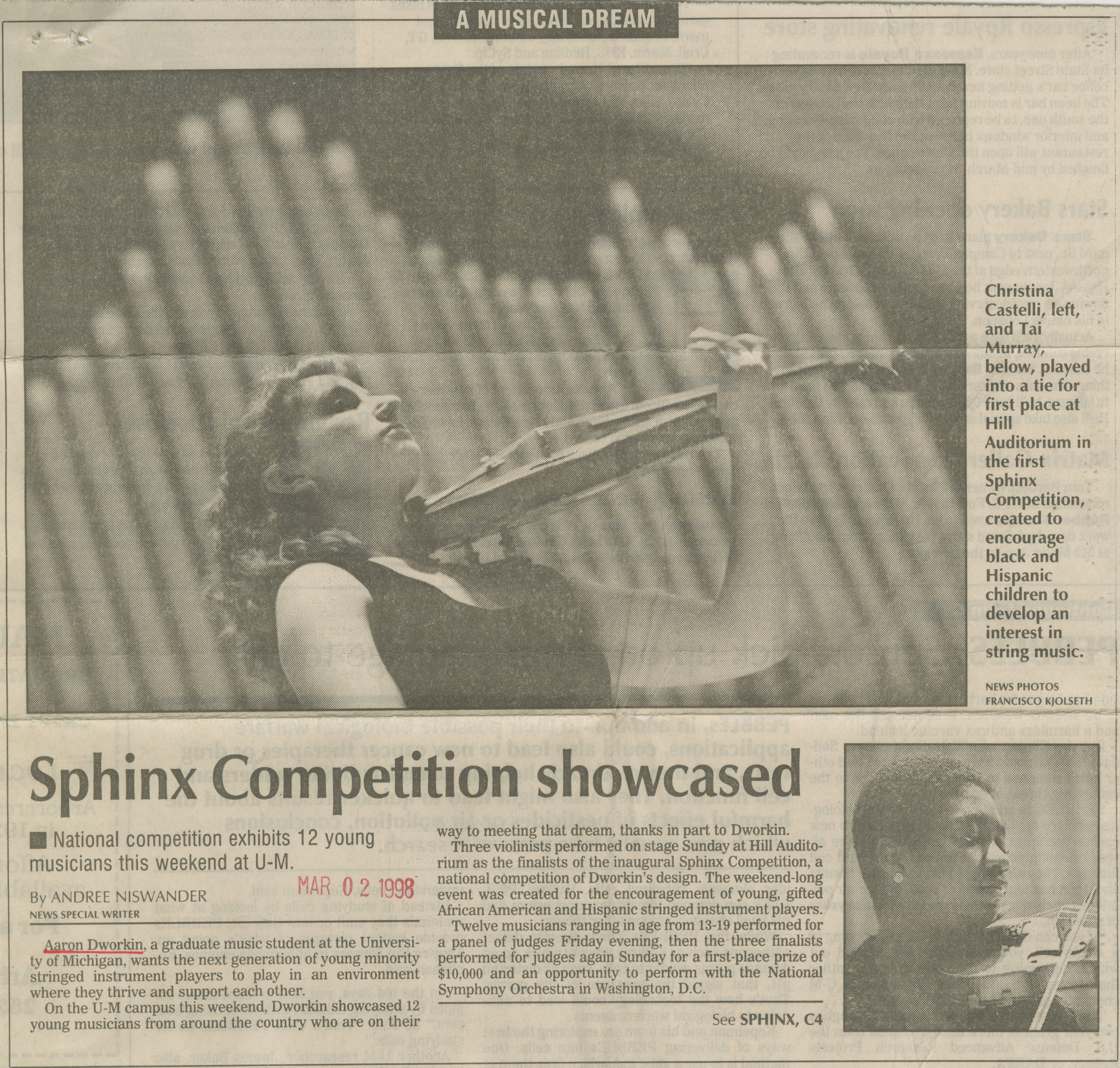 Sphinx Competition showcased image