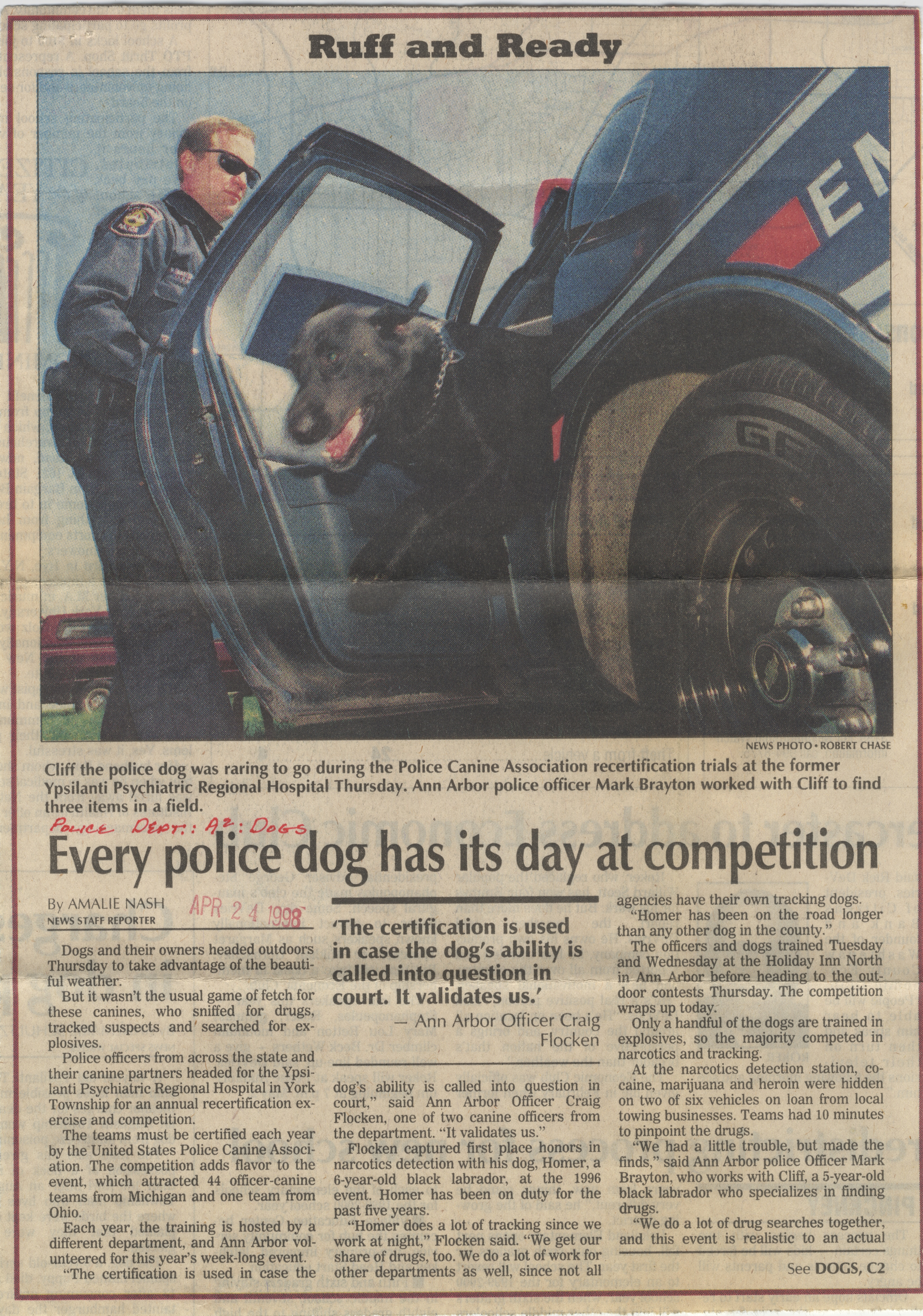 Every Police Dog Has Its Day At Competition image