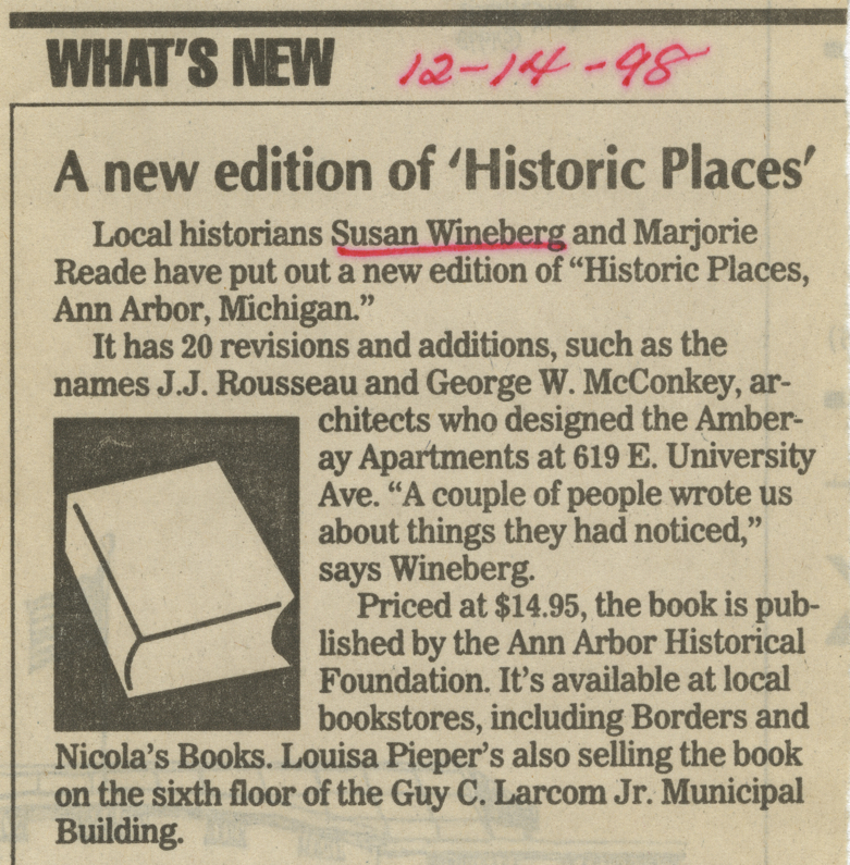 A new edition of 'Historic Places' image