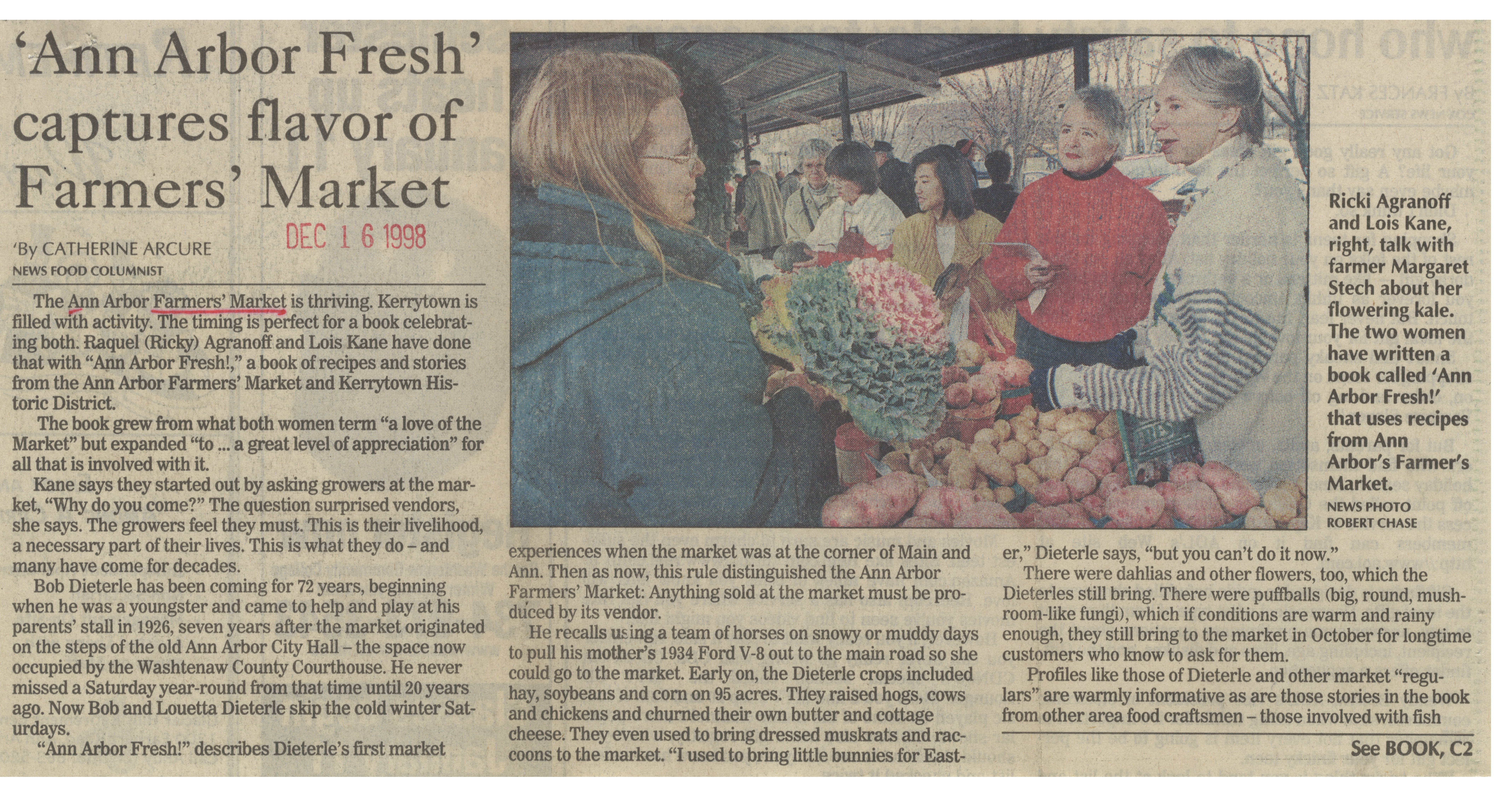 'Ann Arbor Fresh' Captures Flavor of Farmers' Market image