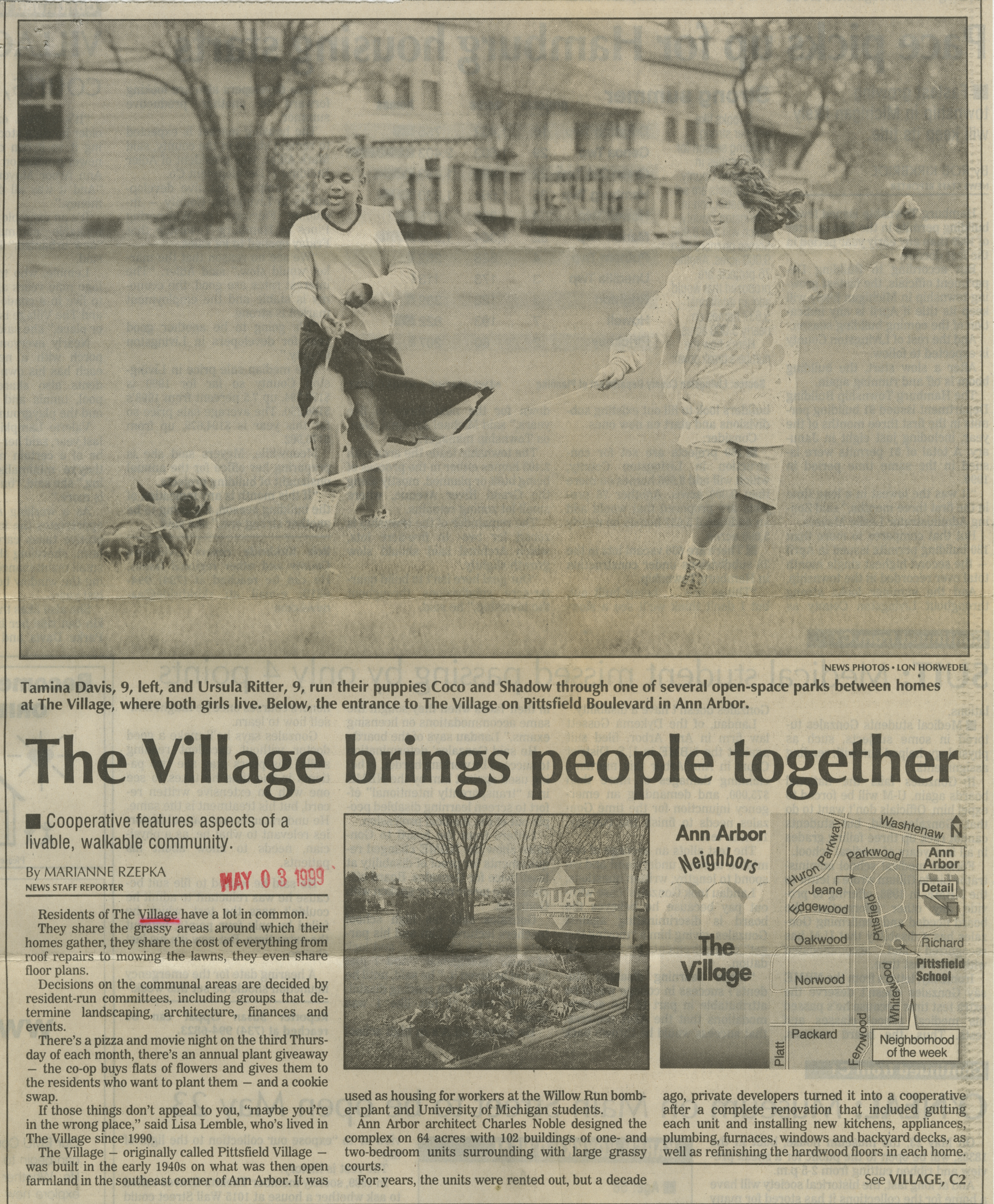 The Village brings people together image