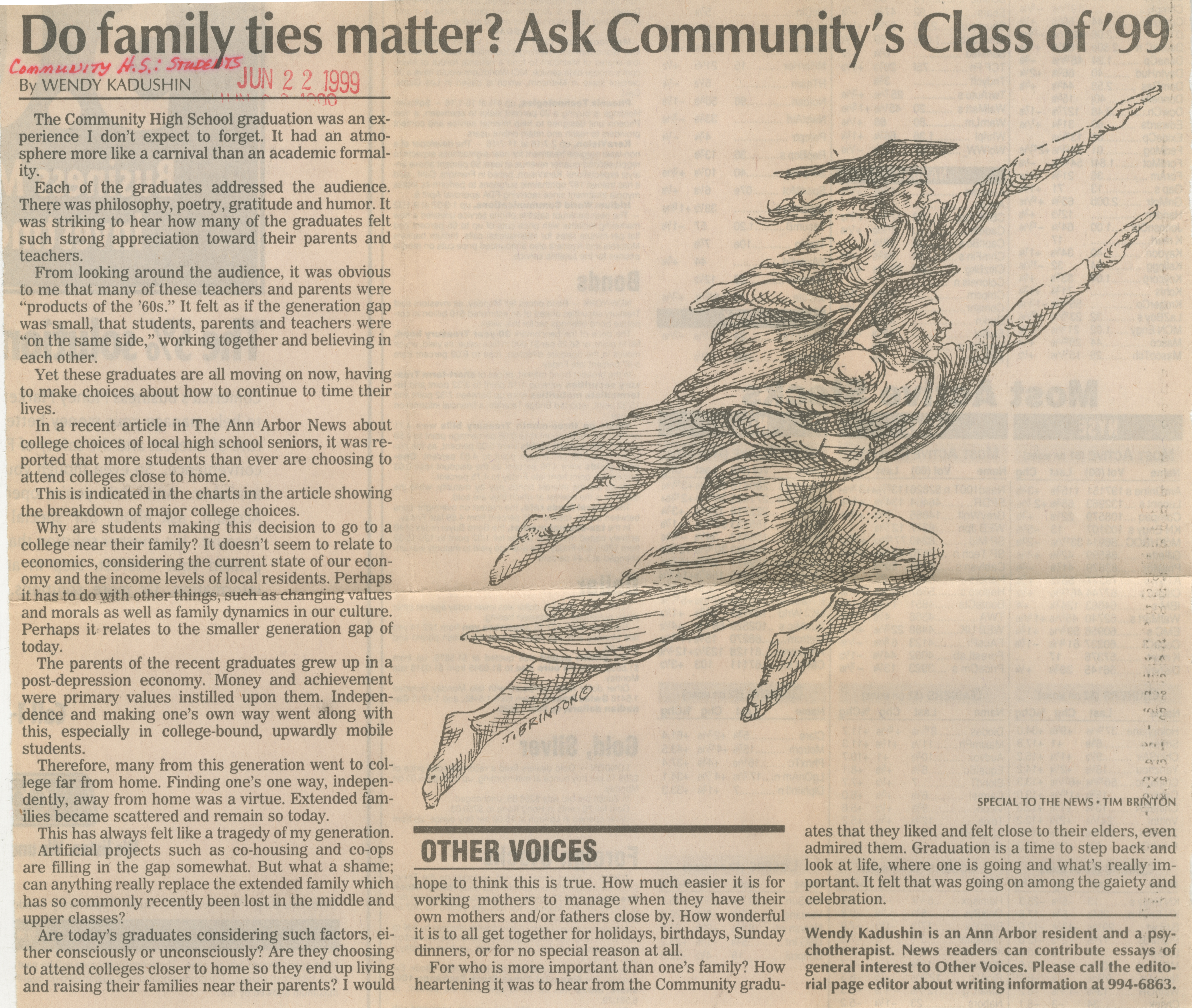 Do family ties matter? Ask Community's Class of '99 image