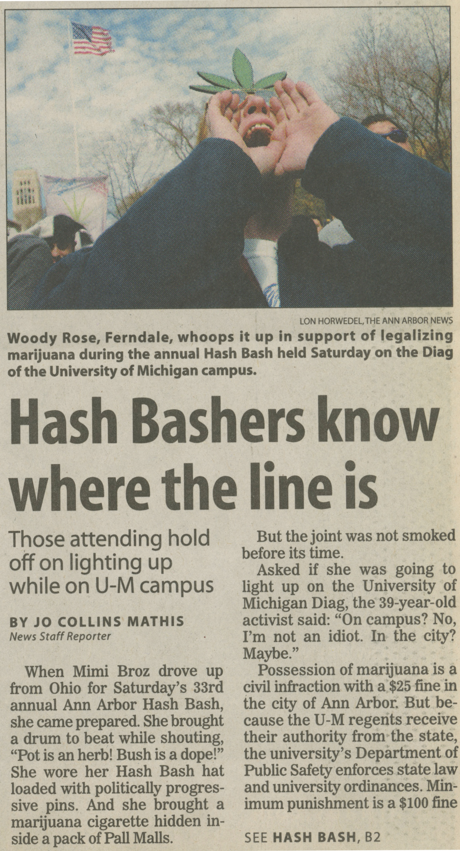 Hash Bashers Know Where The Line Is image