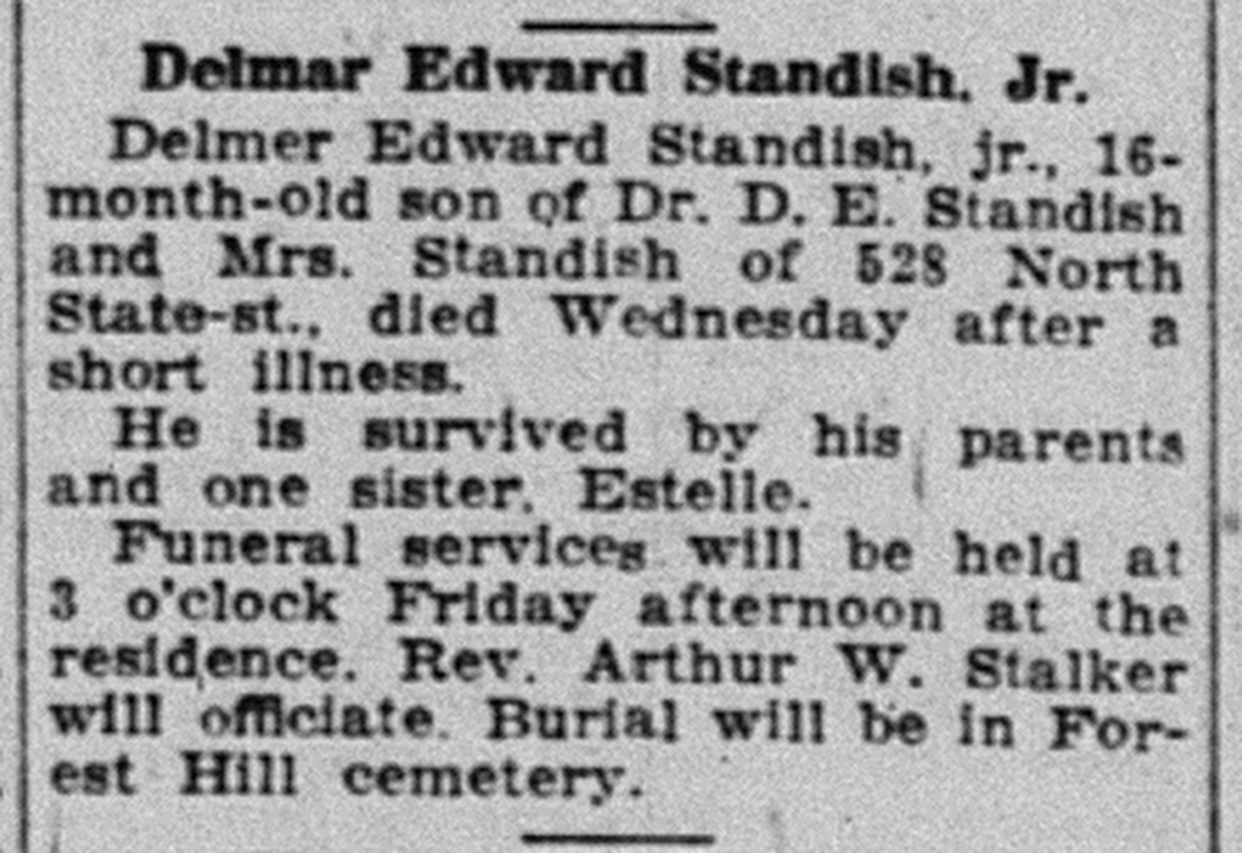 Delmar Edward Standish, Jr. image