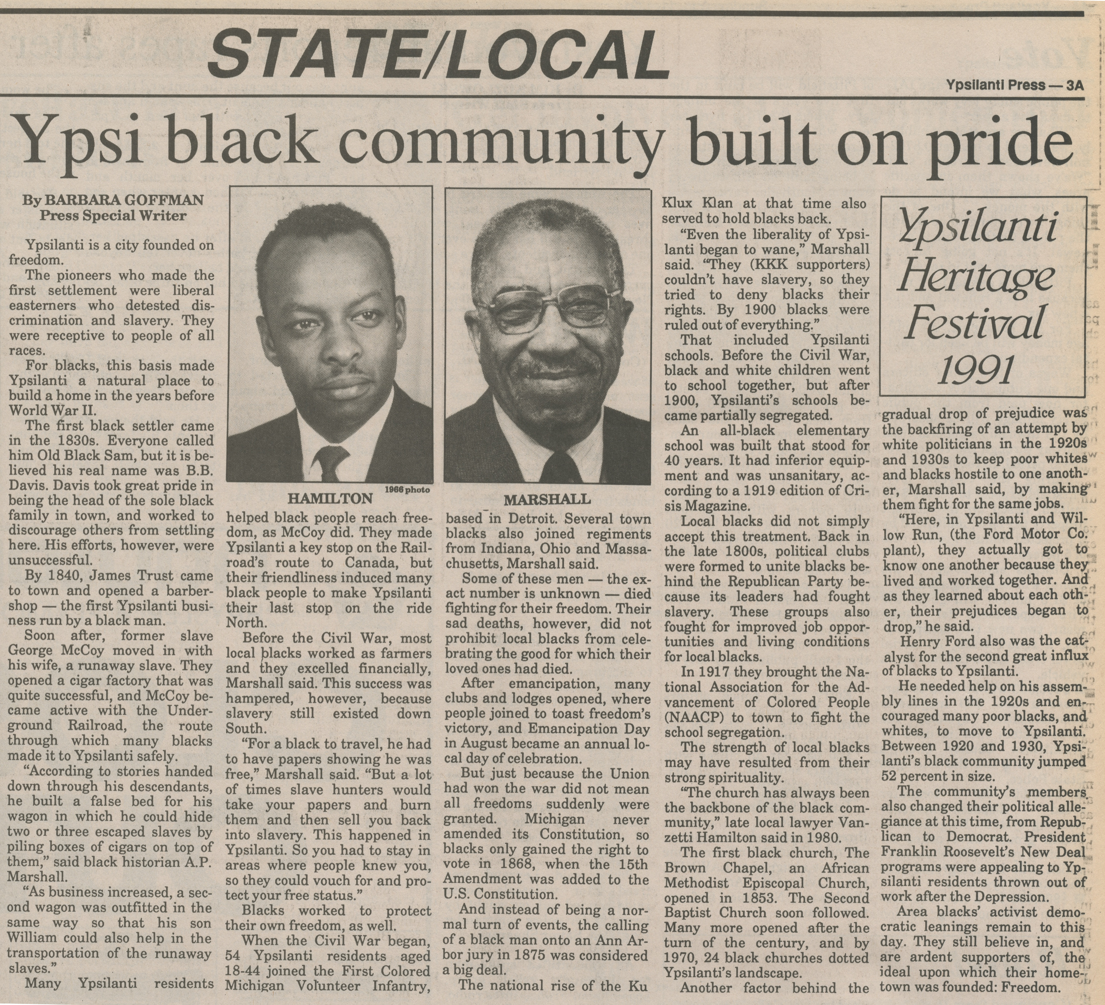 Ypsi Black Community Built On Pride image