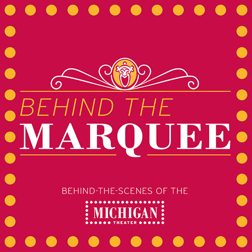 Promotional image for Behind The Marquee: Episode 43 - Haroula Rose, Bonnie Jo Campbell, and David Macias of Once Upon a River podcast