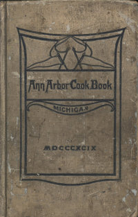 1899 Ann Arbor Cookbook image