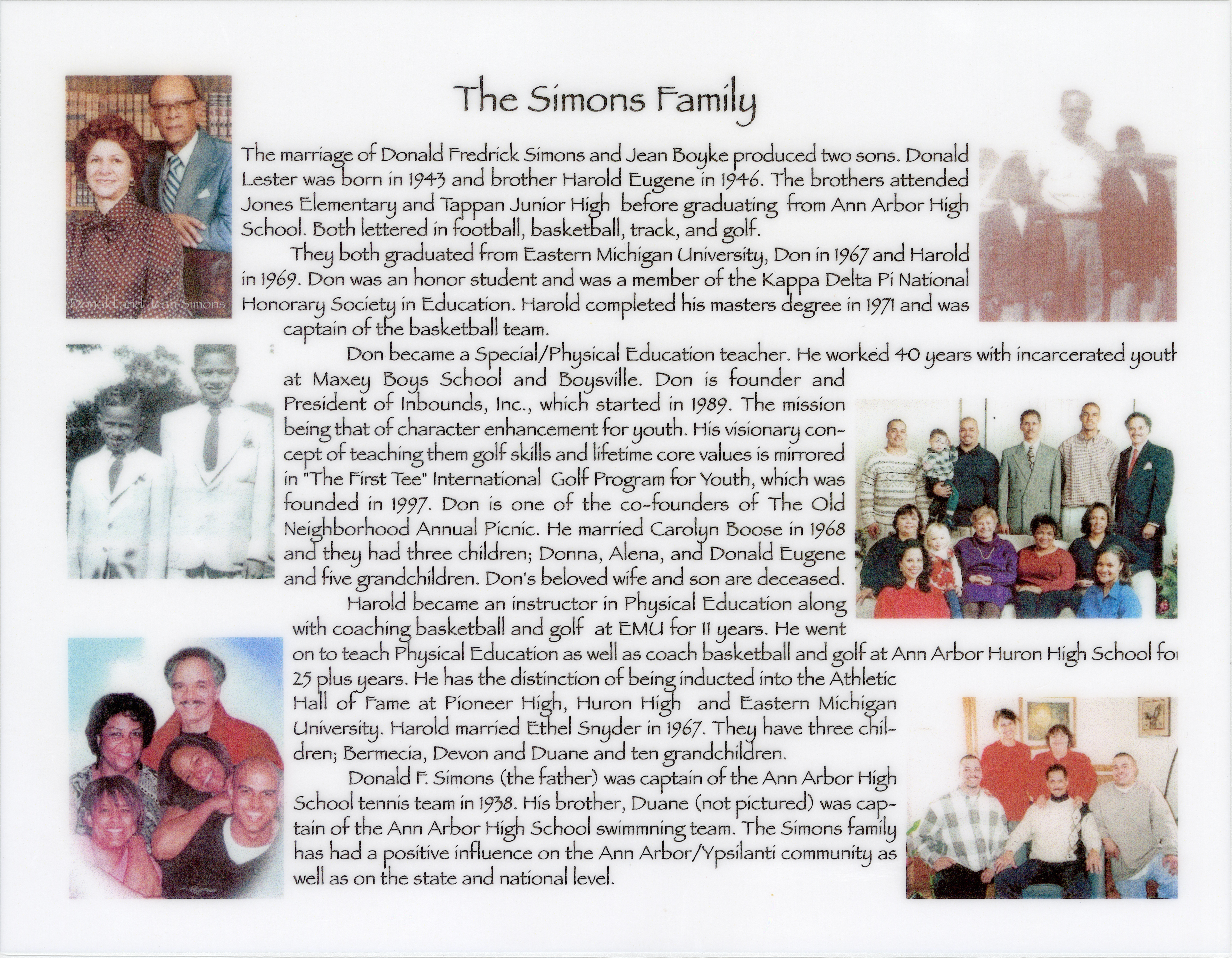 The Simons Family image