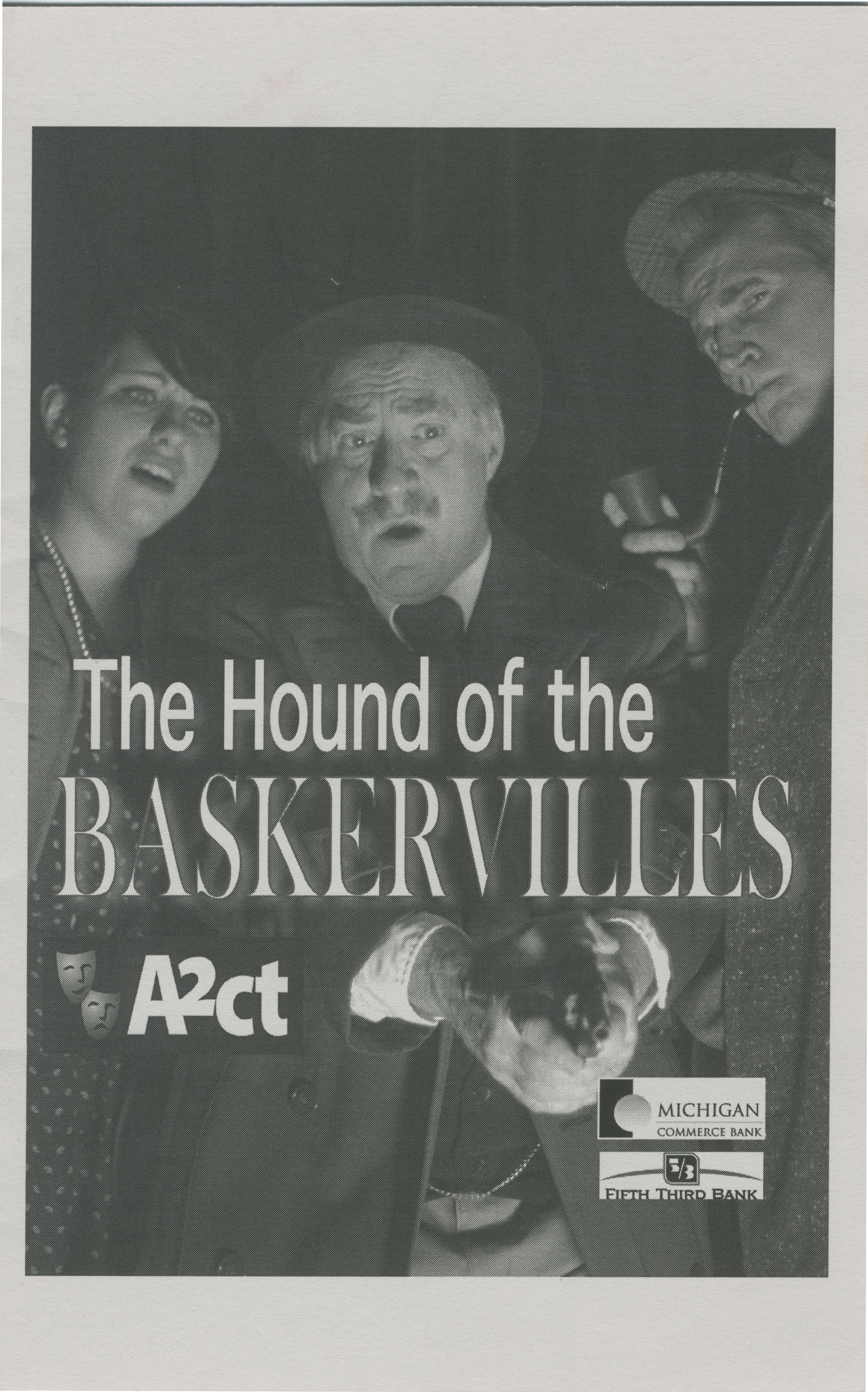 Ann Arbor Civic Theatre Program: The Hound of the Baskervilles, March 11, 2010 image