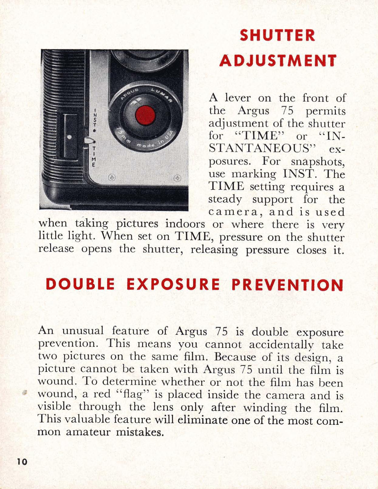 argus 75 camera manual best setting instruction guide u2022 rh ourk9 co Vintage Argus Camera $75 Vintage Argus Camera