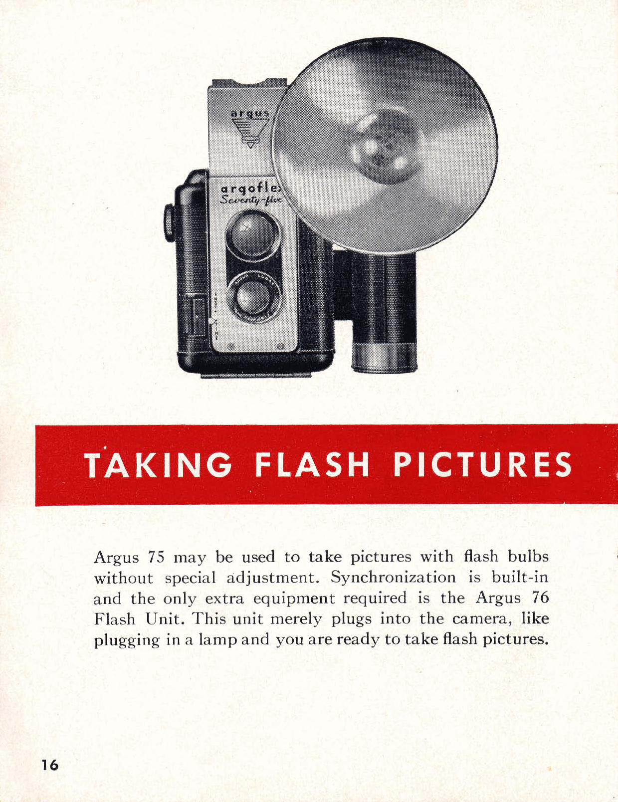 argus 75 instructions for use ann arbor district library rh aadl org Old Argus Camera Values $75 Vintage Argus Camera