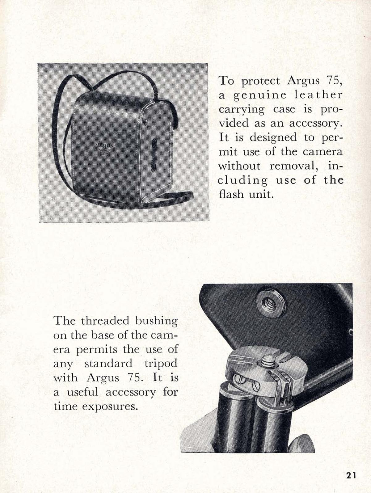 argus 75 instructions for use ann arbor district library rh aadl org Vintage Argus Camera Vintage Argus Camera