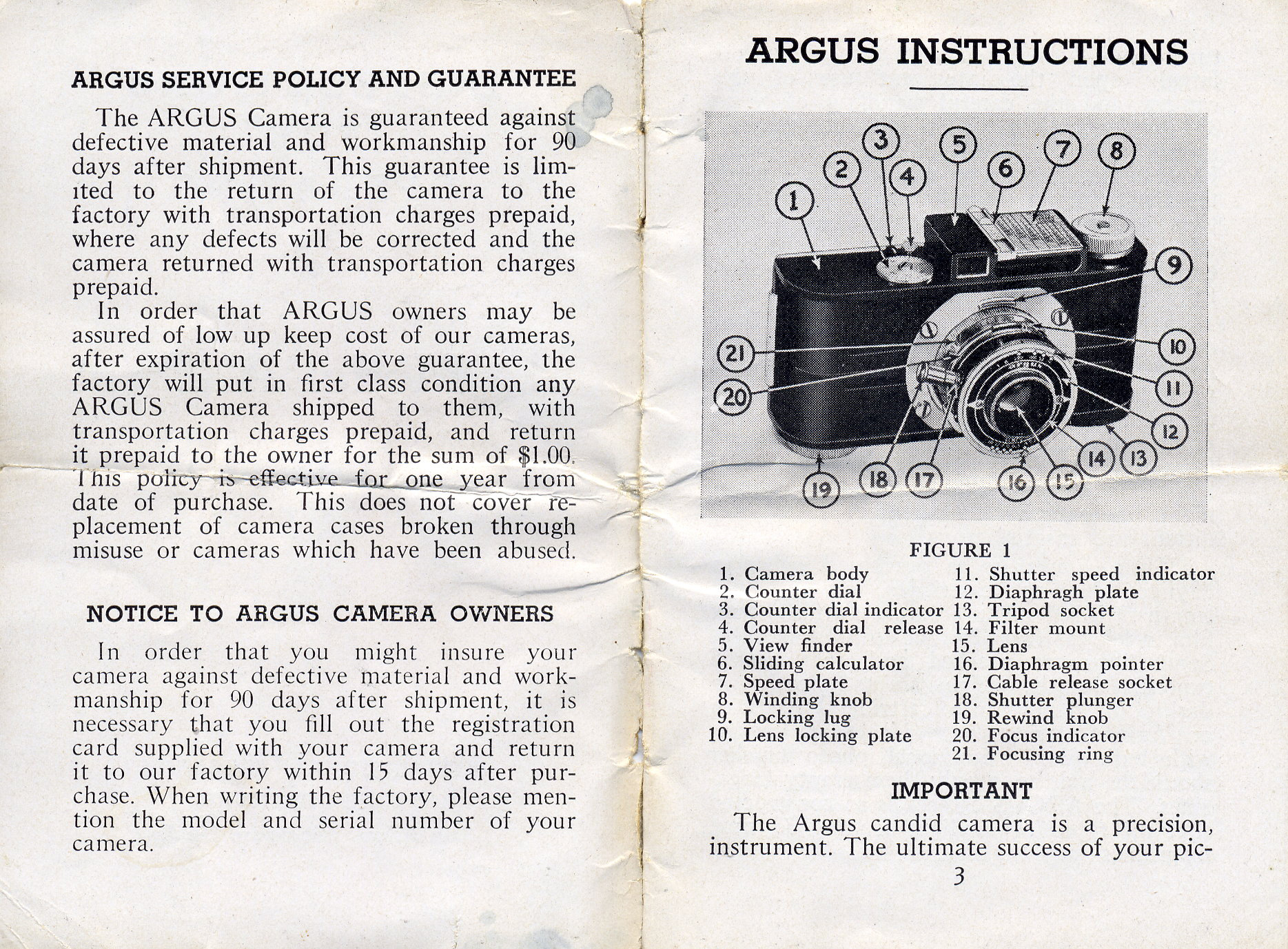 instructions for operating model a2f argus camera ann arbor rh aadl org camera instruction manual e-m10 camera instructions manual em10 mark 2
