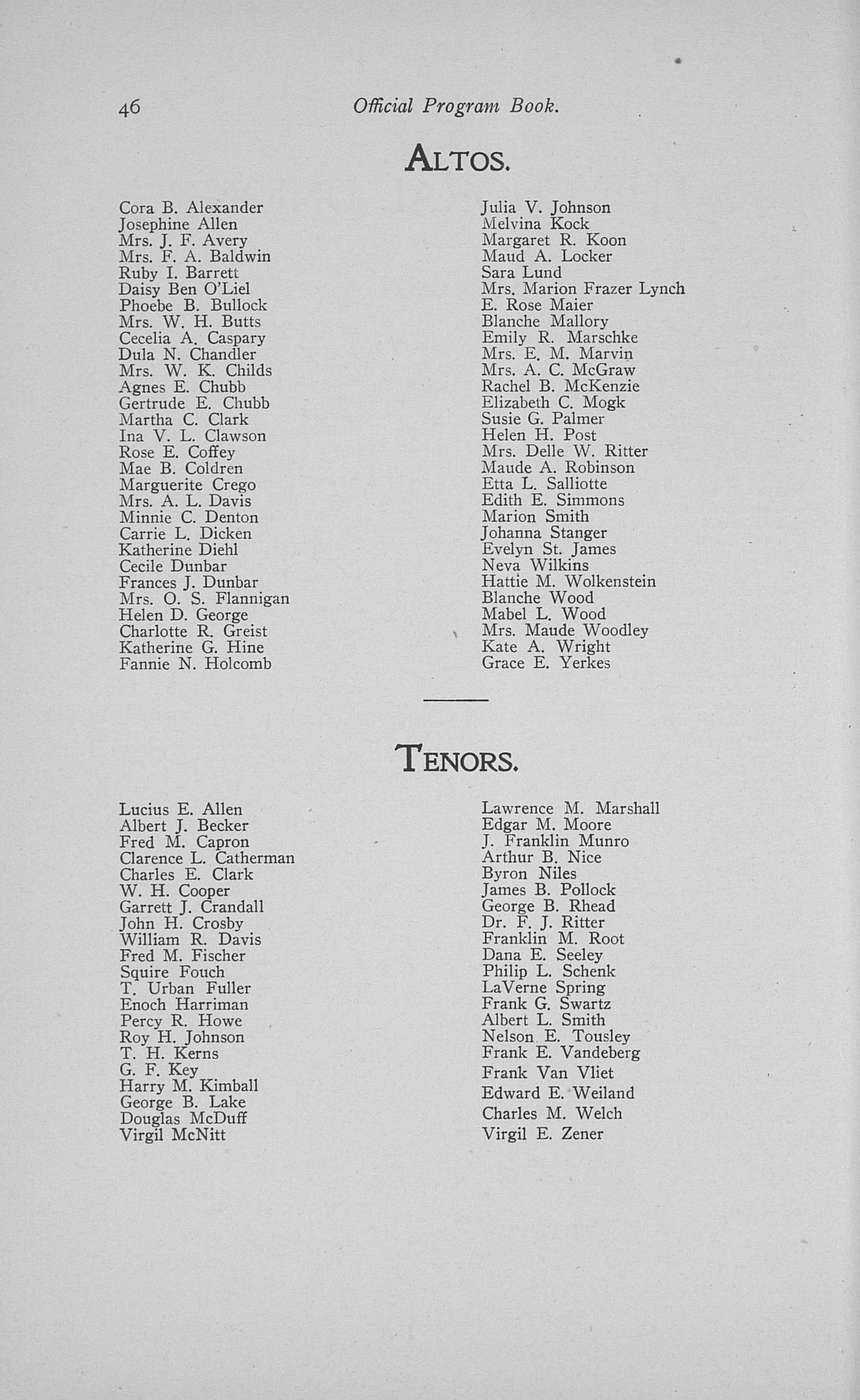 UMS Concert Program, May 16, 17, 18, 1901: Eighth Annual May Festival -- The Choral Union image