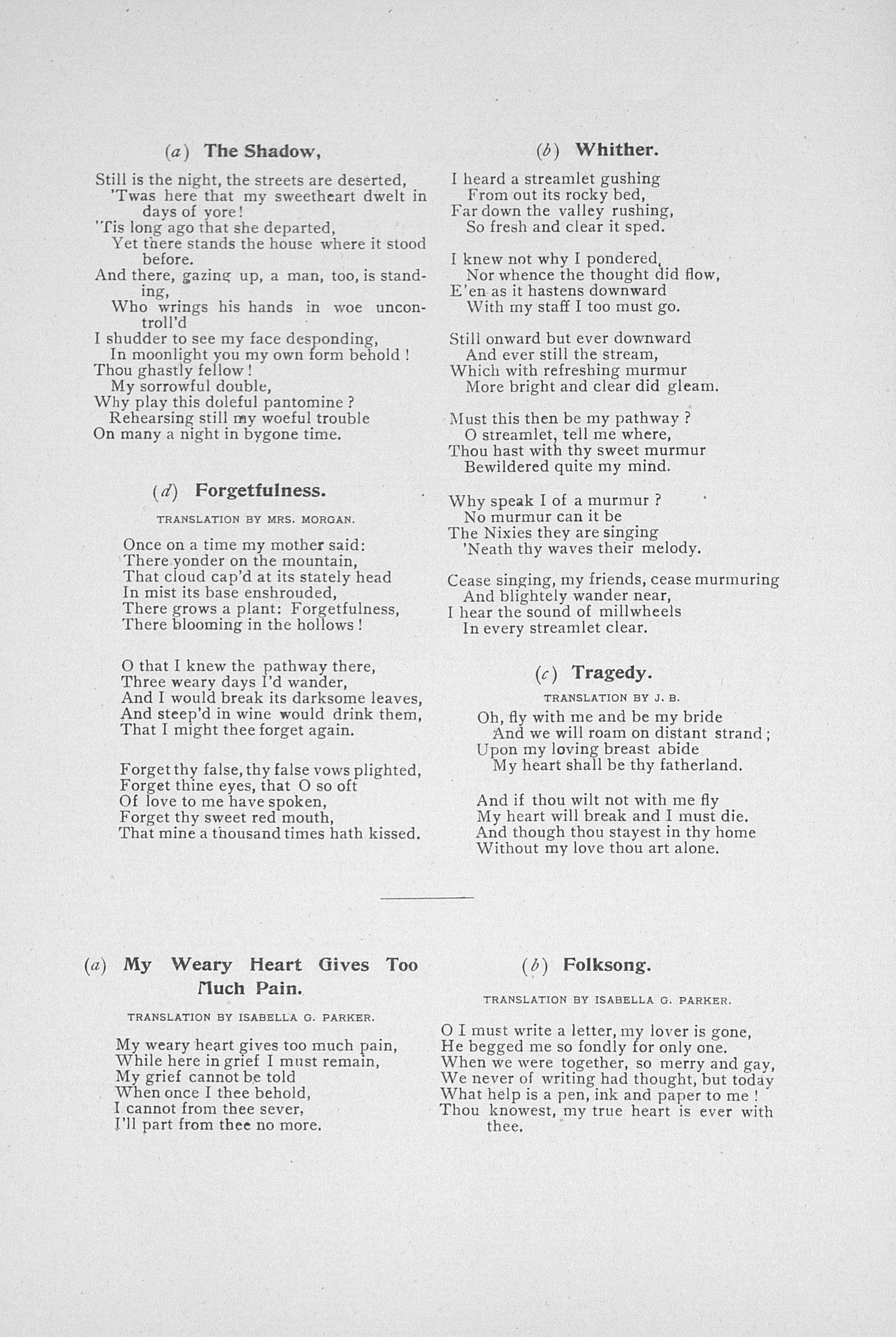 UMS Concert Program, December 1, 1902: Choral Union Series --  image