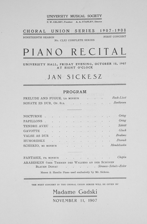music recital program templates