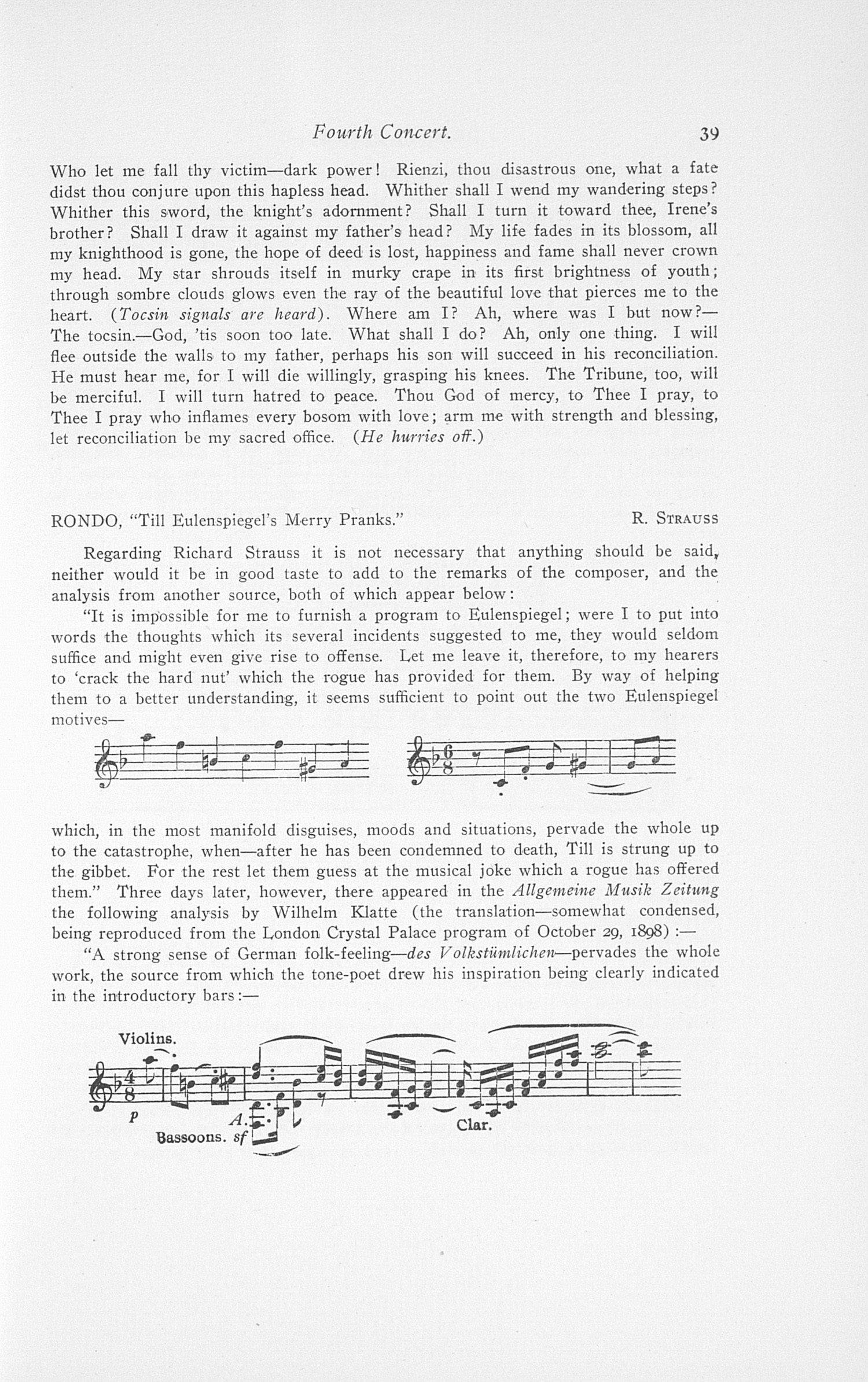 UMS Concert Program, May 13, 14, 15, 16, 1908: Fifteenth Annual May Festival Of The University Of Michigan -- The Choral Union image