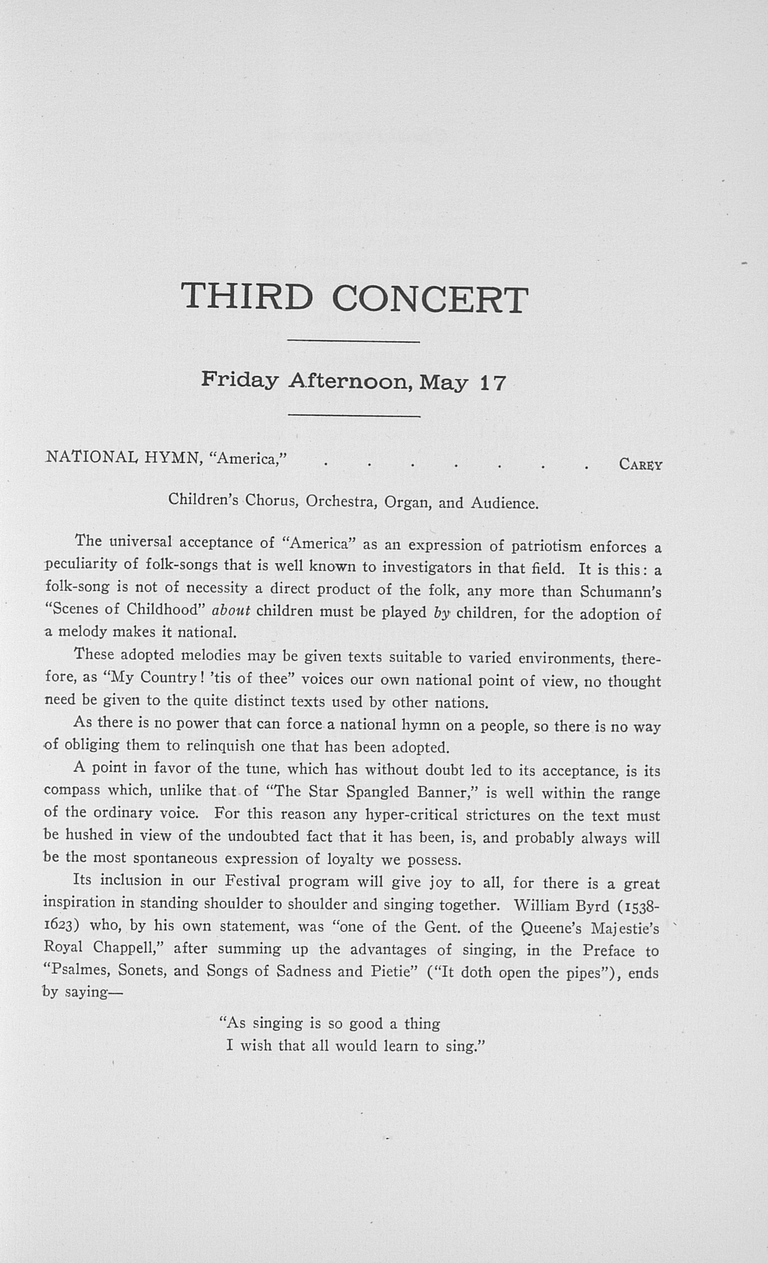 UMS Concert Program, May 15, 16, 17, 18 1918: Twenty-fifth Annual May Festival Of The University Of Michigan --  image