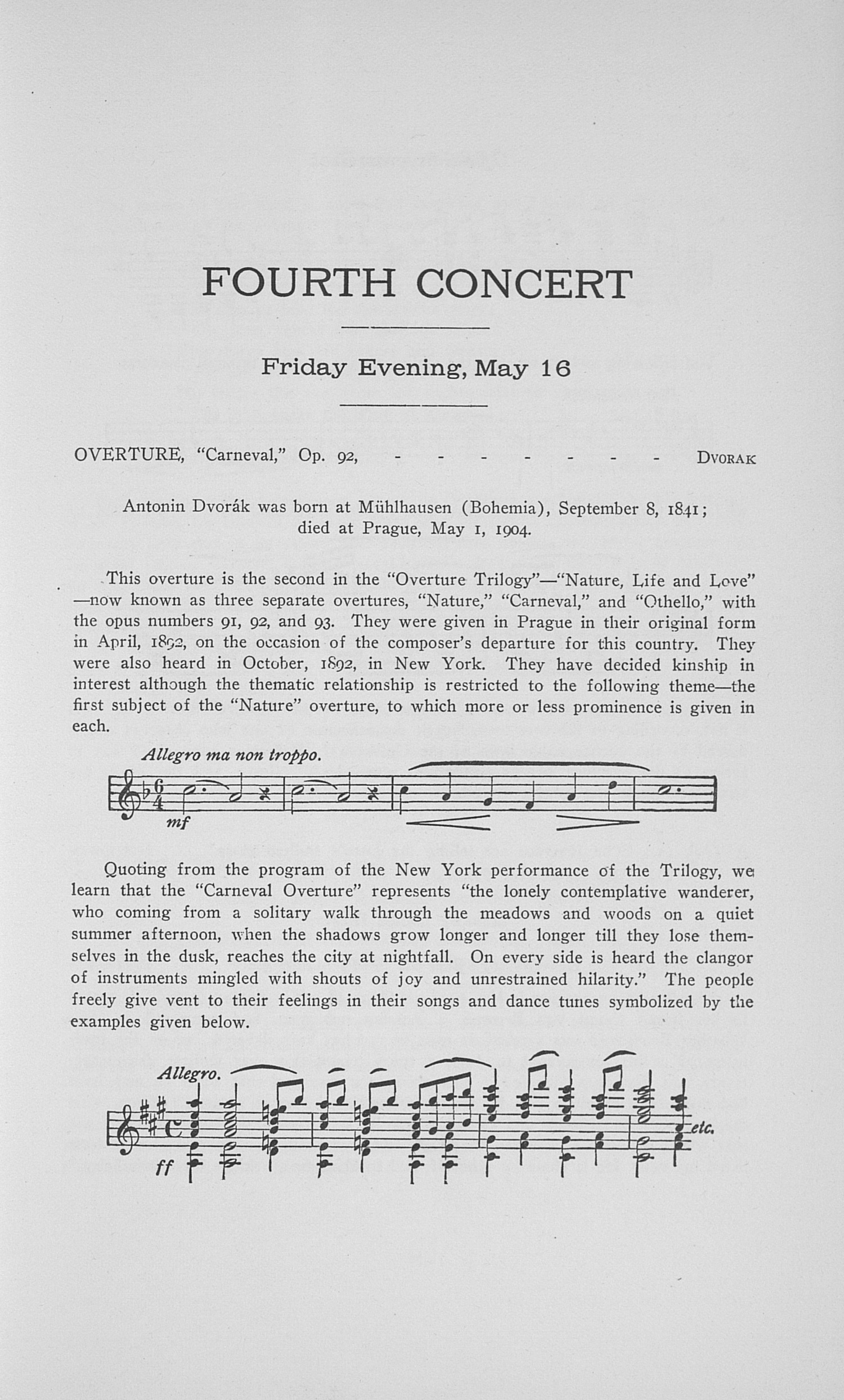 UMS Concert Program, May 14, 15, 16, 17, 1919: Twenty-sixth Annual May Festival Of The University Of Michigan -- Choral Union Series image