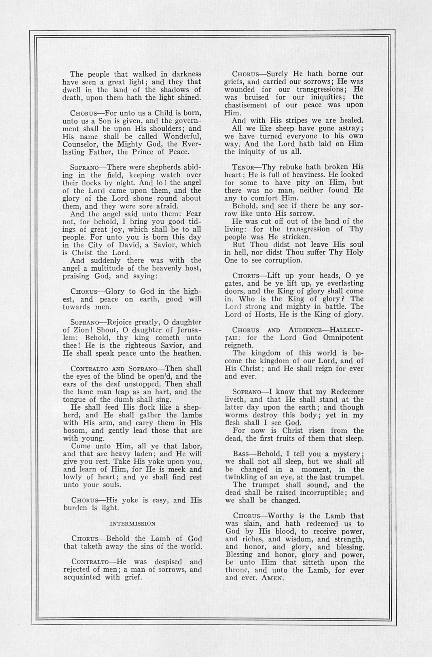 UMS Concert Program, December 10, 1950: