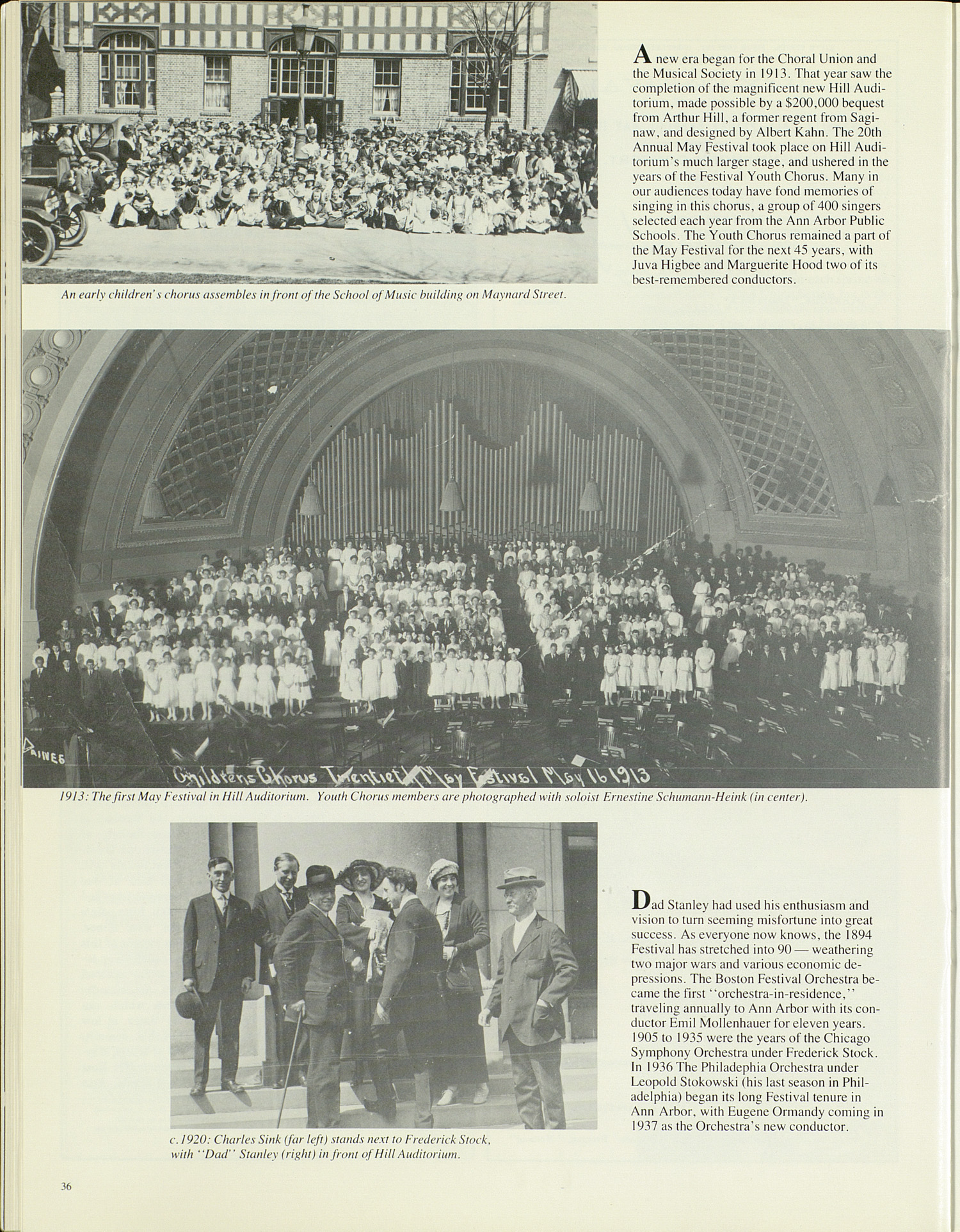 UMS Concert Program, April 27, 28, 29, 30, 1983: Ninetieth Ann Arbor May Festival 1983 -- The Philadelphia Orchestra image