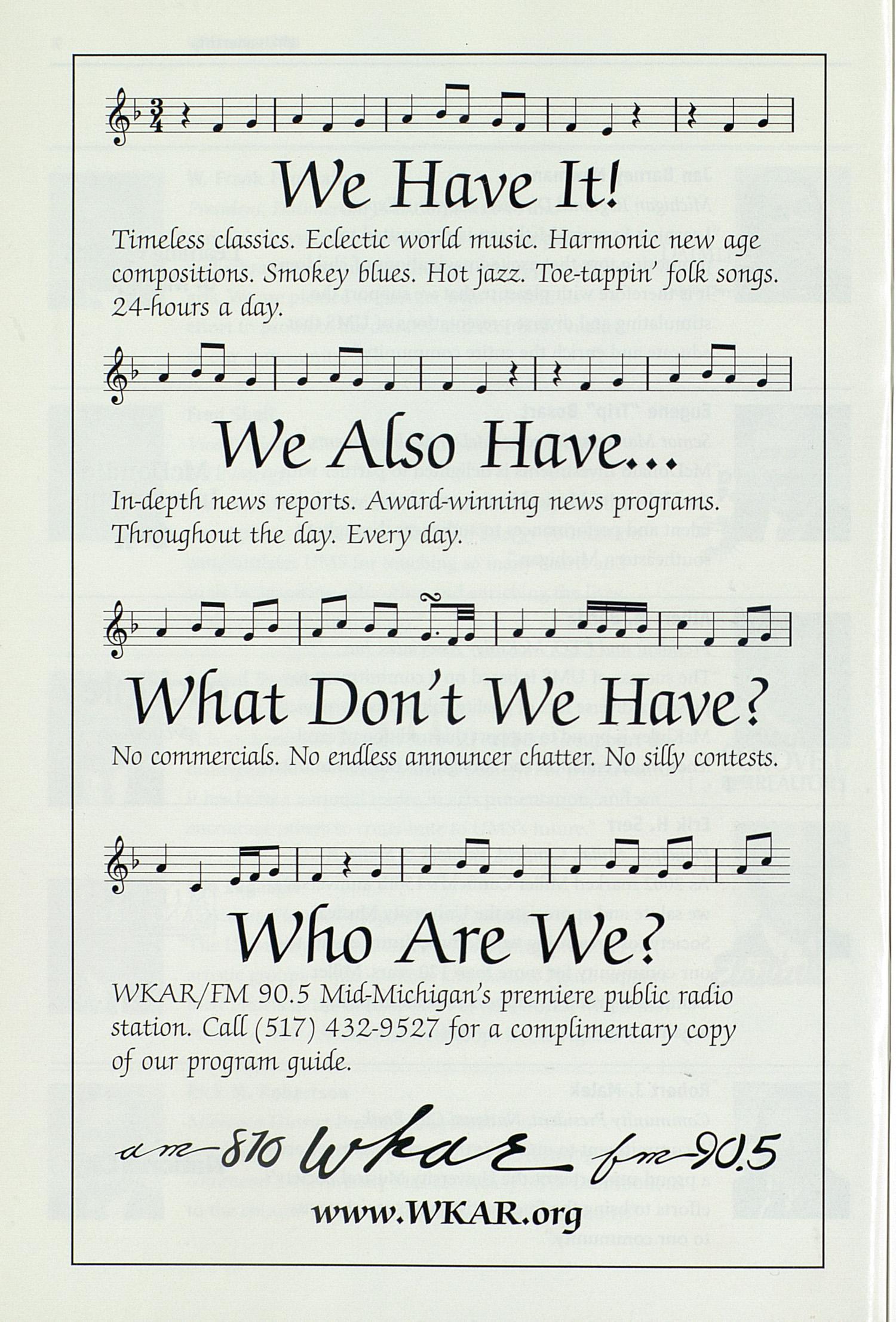 UMS Concert Program, Sunday Dec  08: University Musical Society