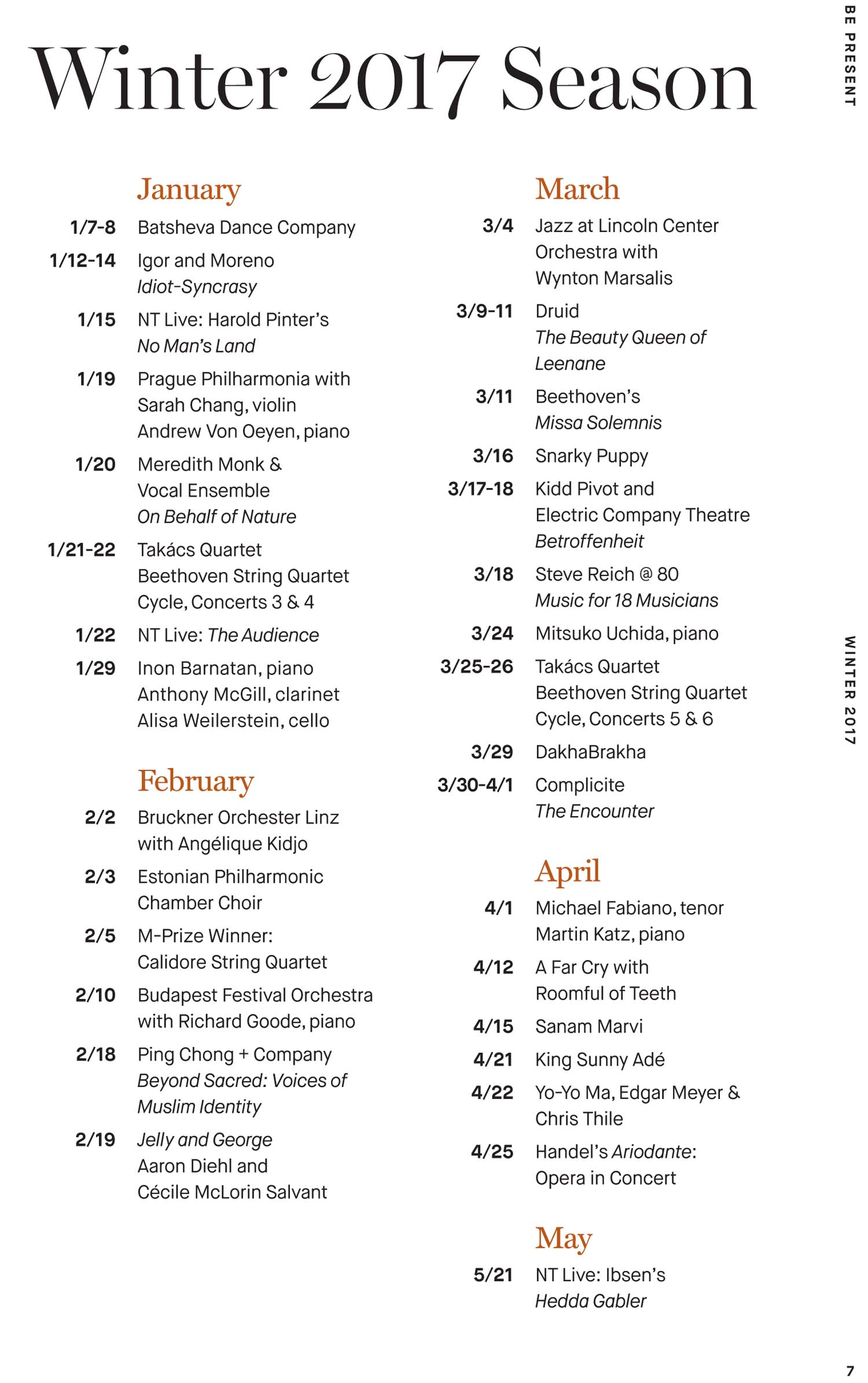 UMS Concert Program, March 29, 2017 - DakhaBrakha image