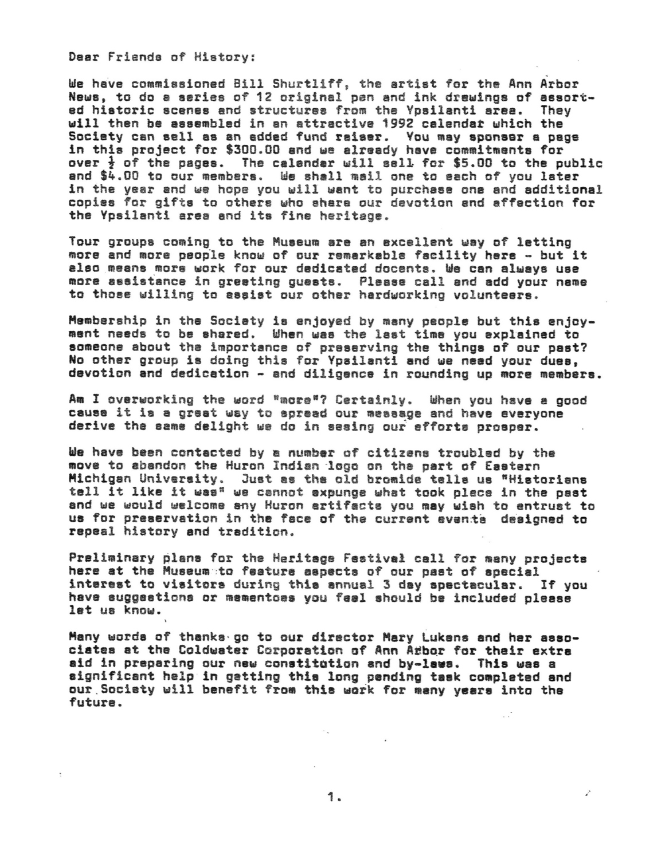 Presidents Letter Ann Arbor District Library