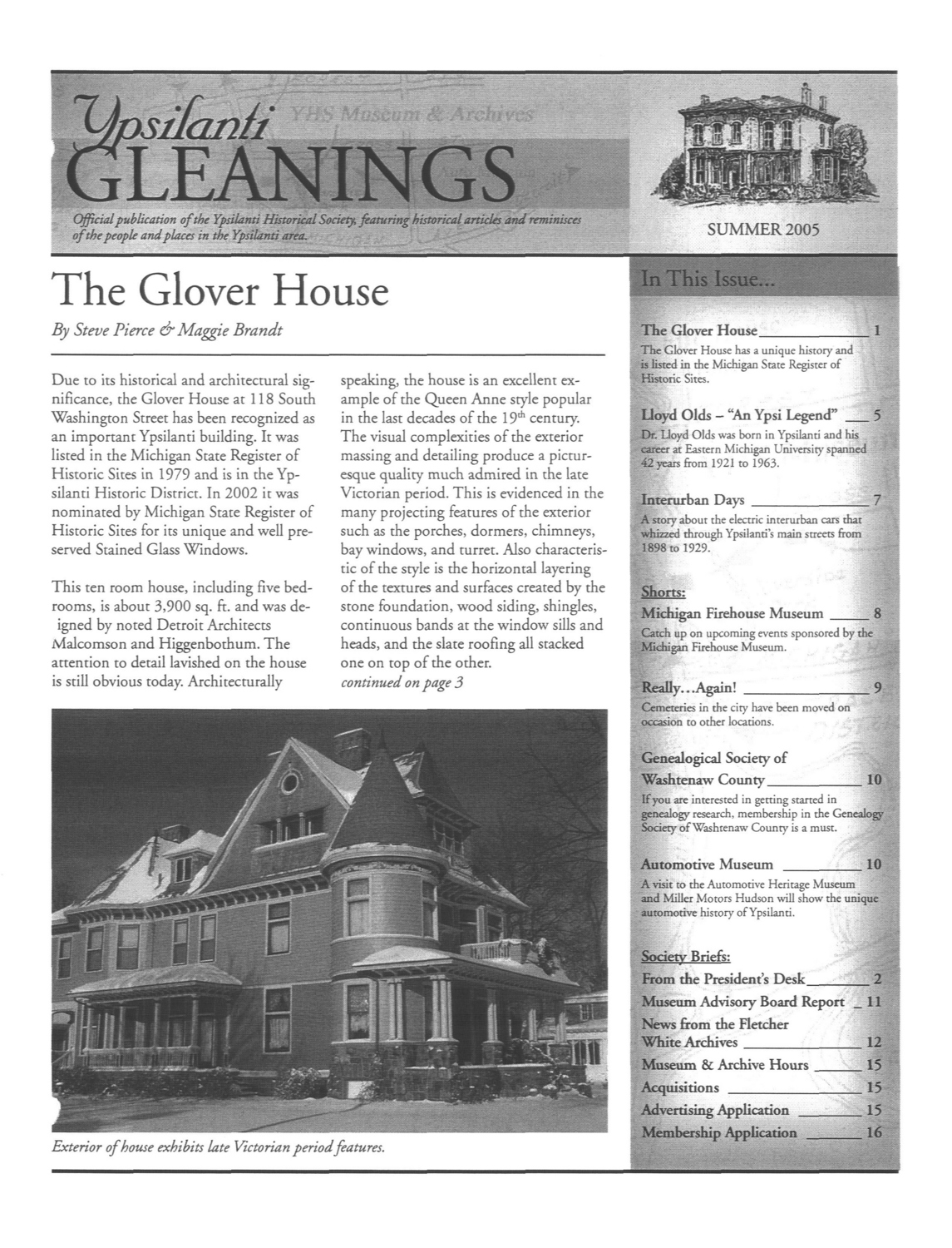 The Glover House image