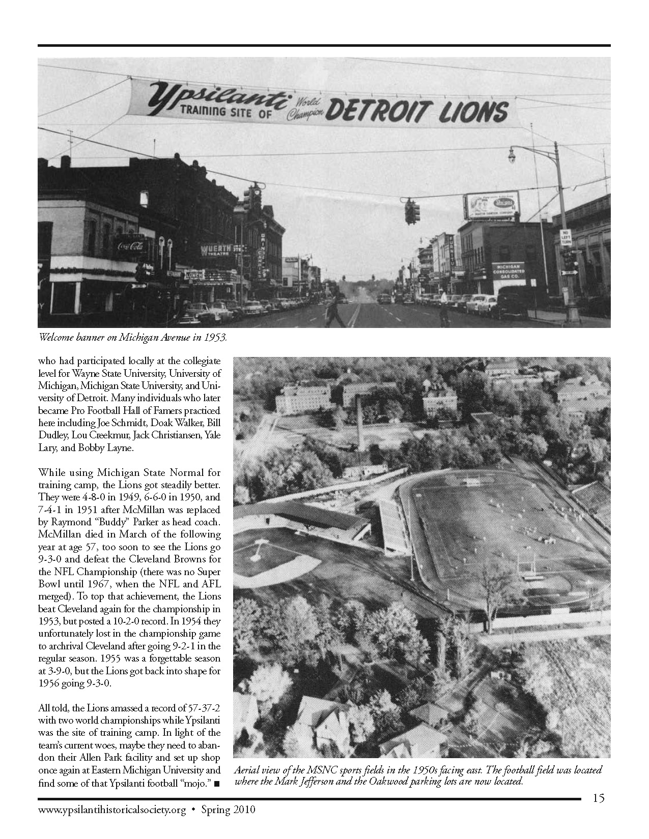 When Lions Stalked the Streets of Ypsilanti image