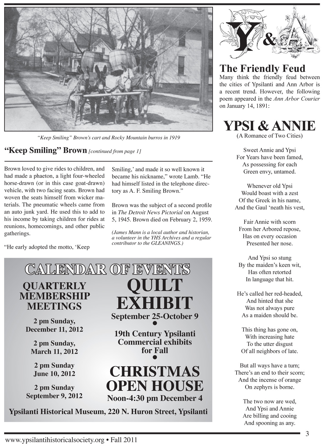 "The Friendly Feud -- ""Ypsi and Annie"" in 1891 Poetry image"