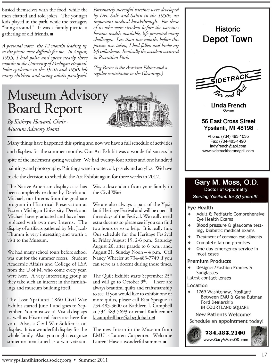 Museum Advisory Board Report image