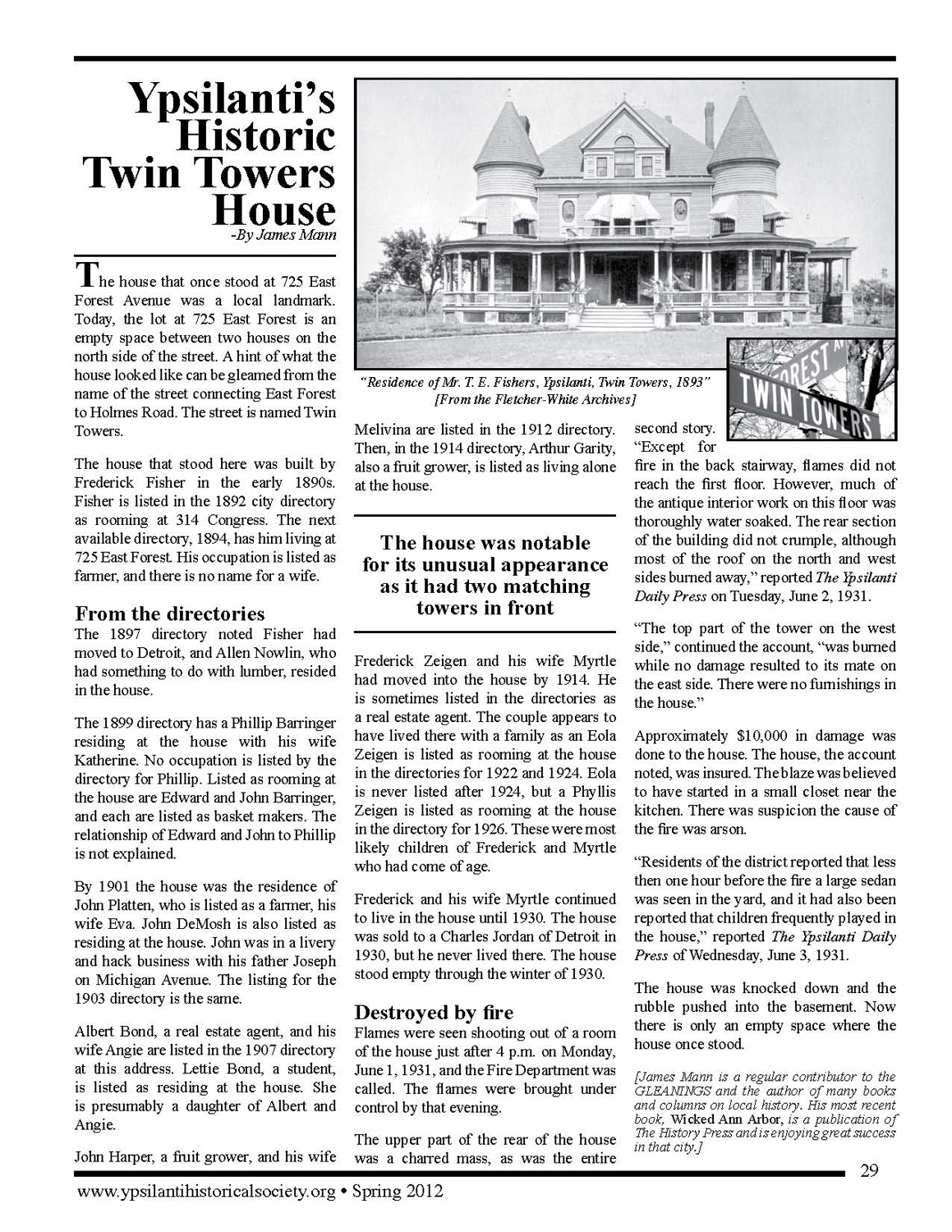 The Twin Towers House image