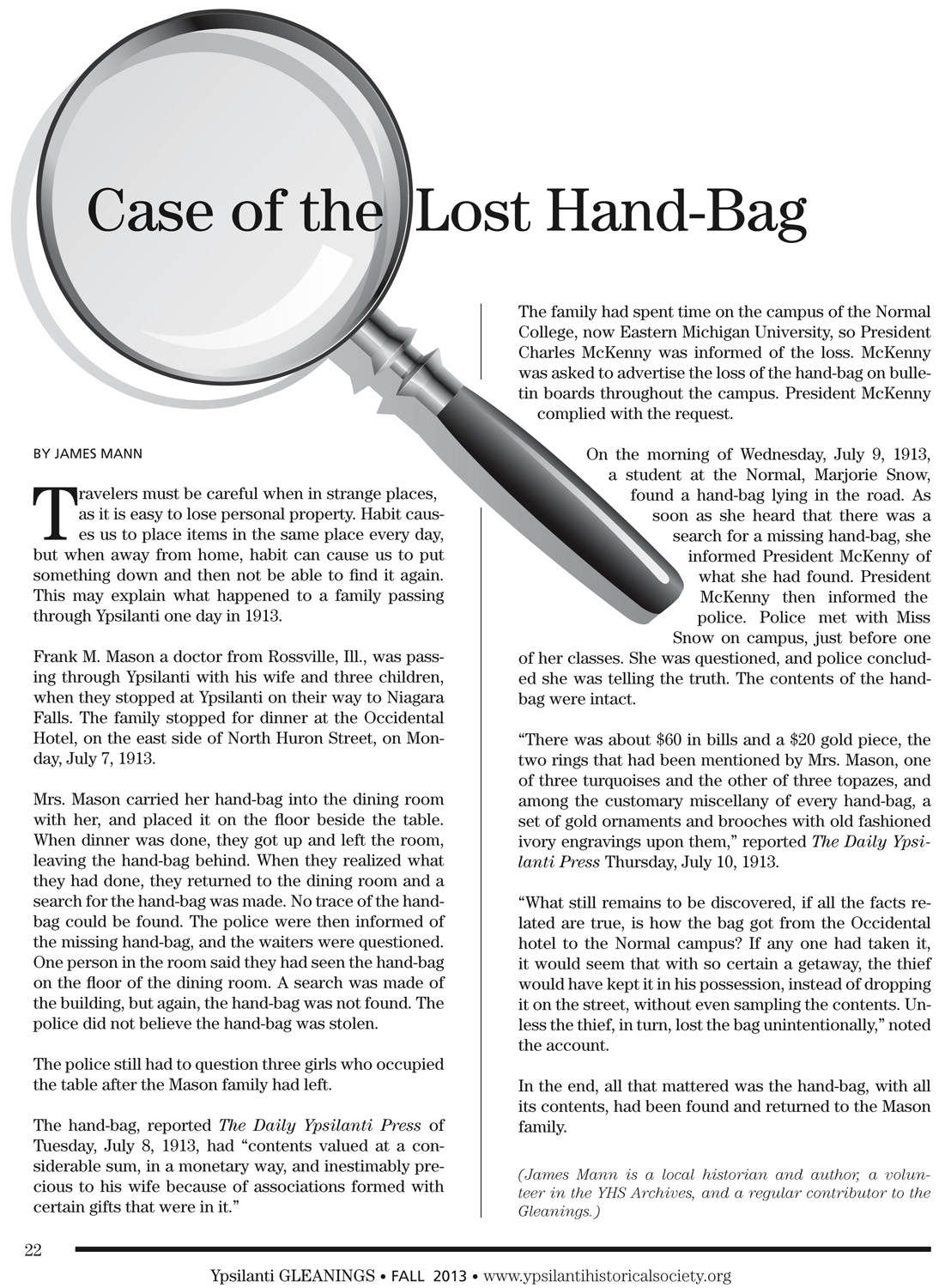 Case of the Lost Handbag image