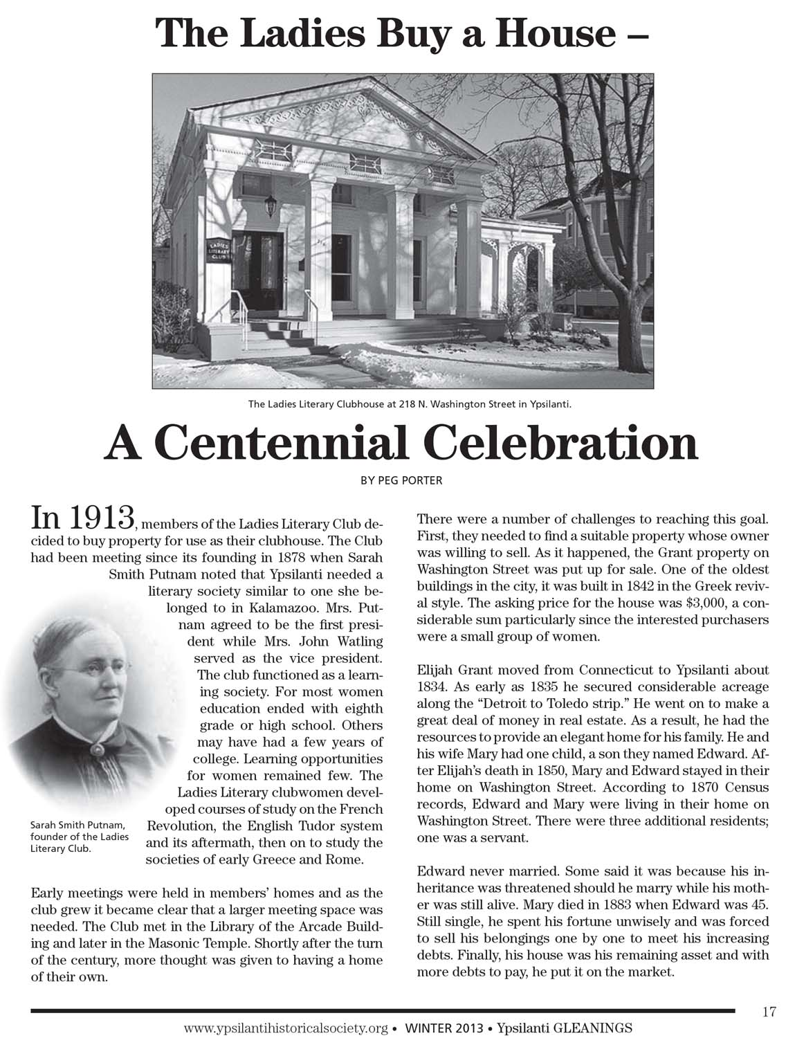 The Ladies Buy a House - A Centennial Celebration image