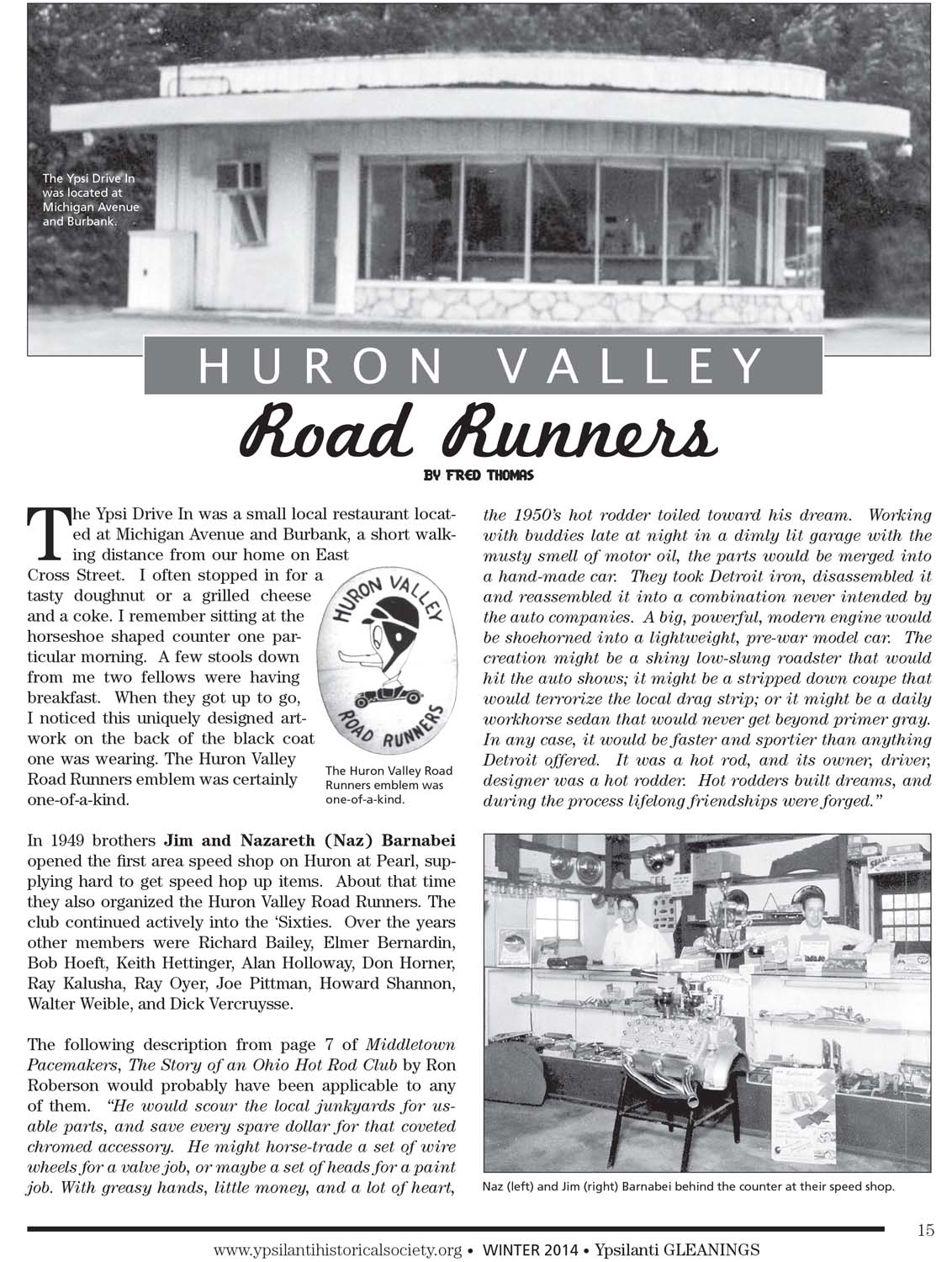 Huron Valley Road Runners image