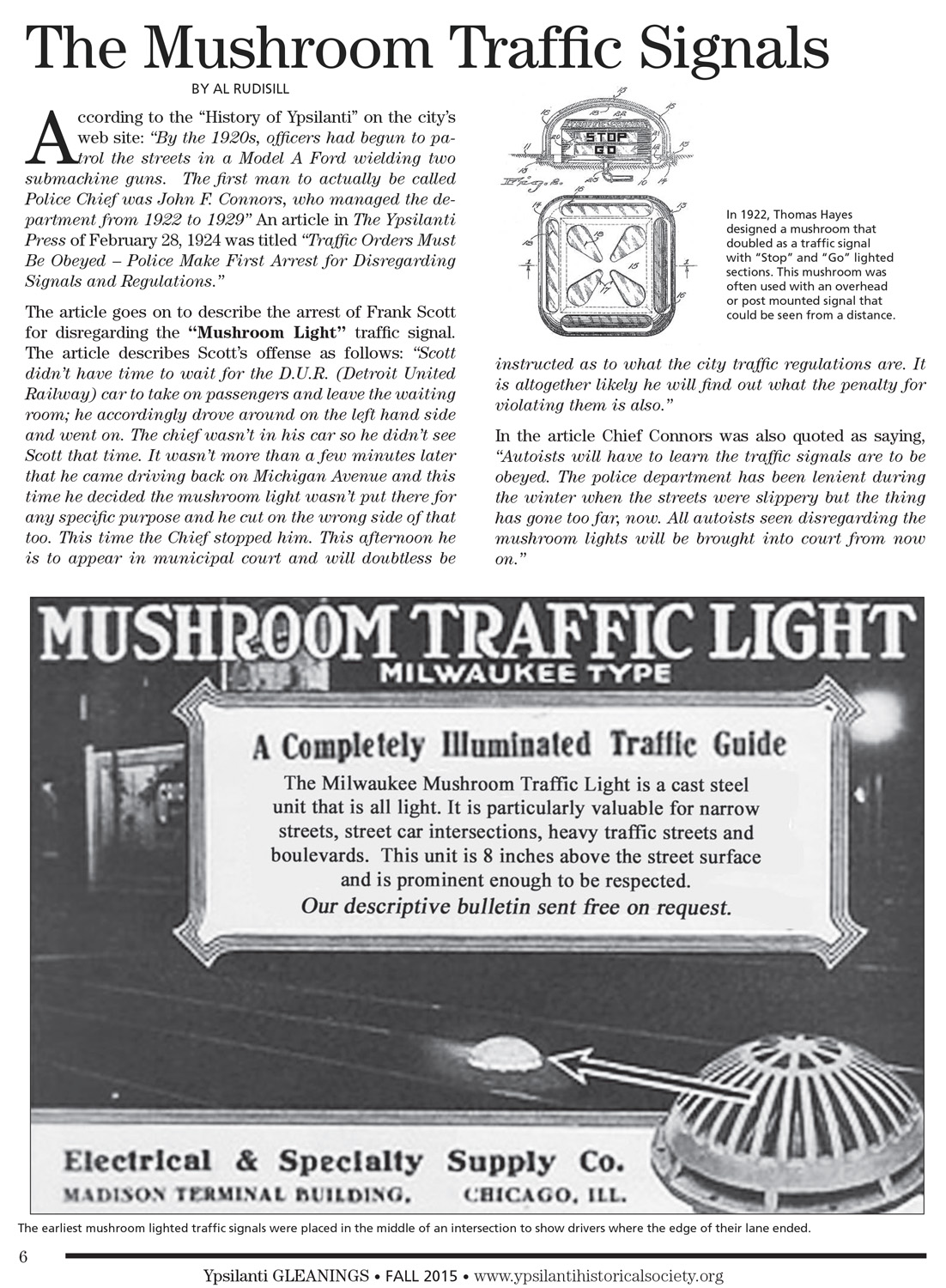 The Mushroom Traffic Signals image