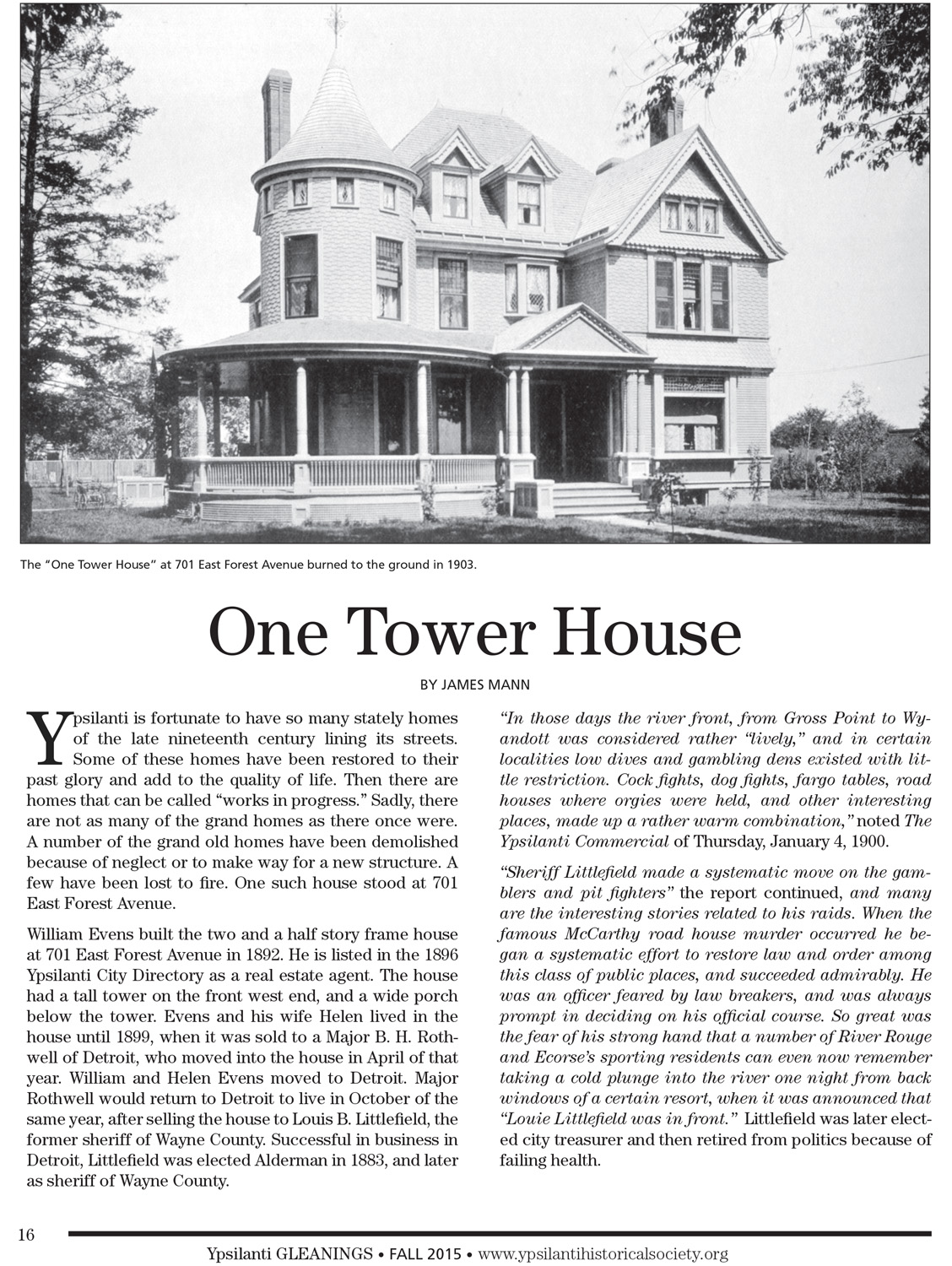 One Tower House image