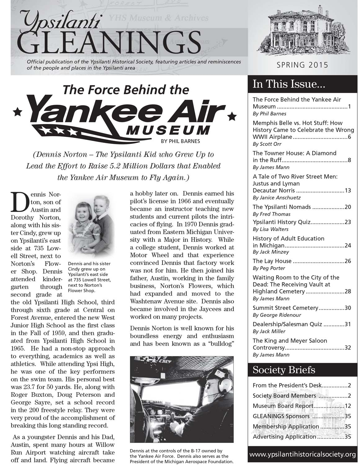 The Force Behind the Yankee Air Museum image