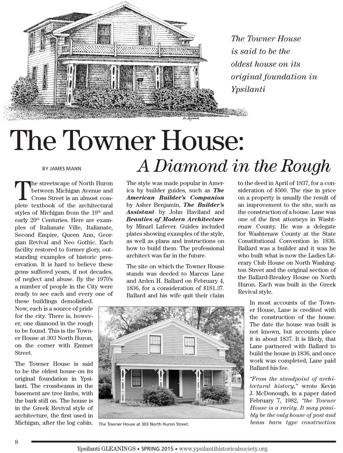The Towner House: A Diamond in the Rough image